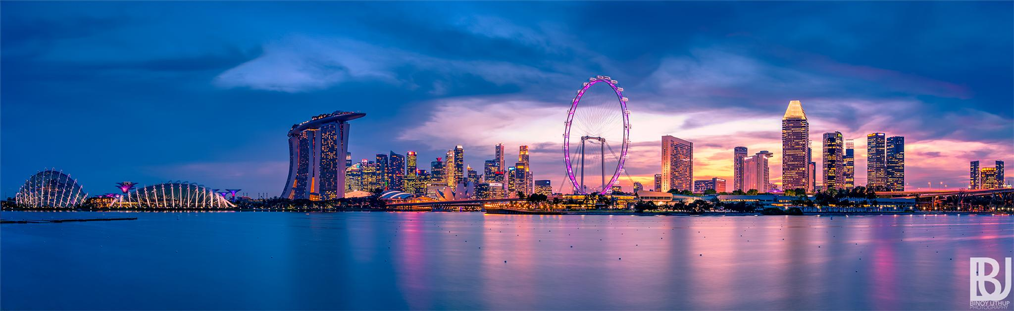 The Beauty of Lion City by binoyuthup