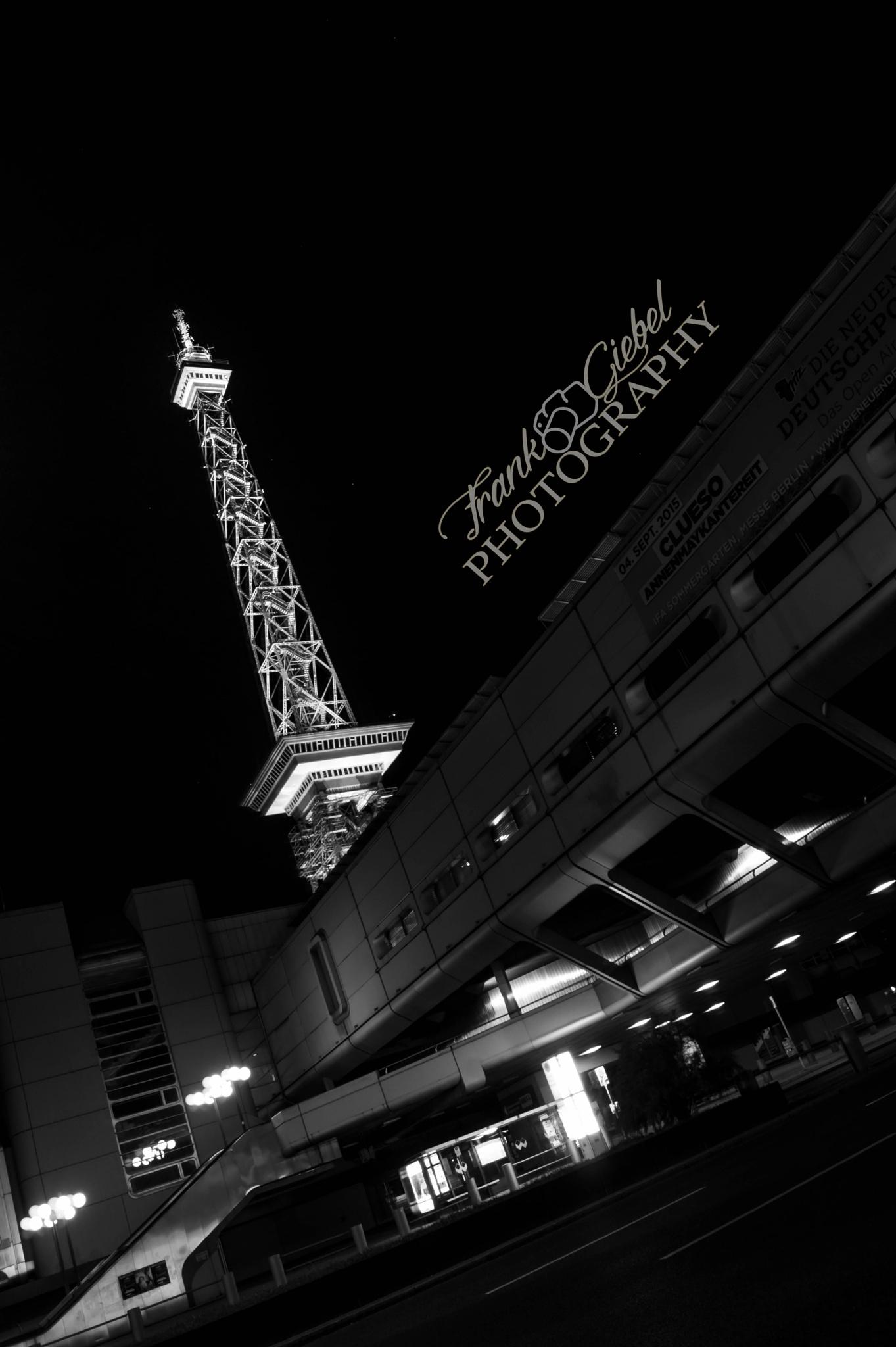 Berliner Funkturm by GiebelPhotoArt