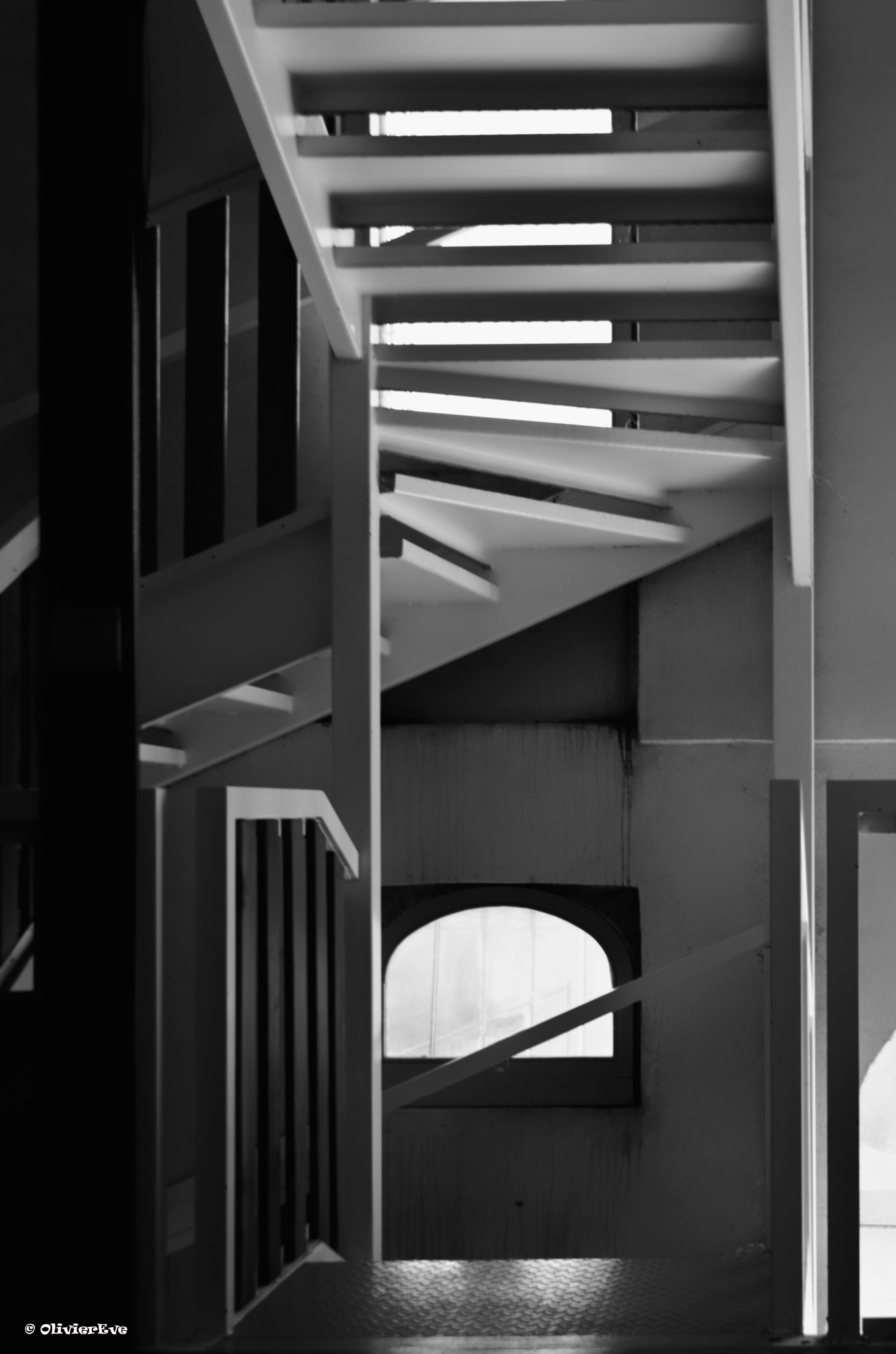 escalier by olivier evenisse