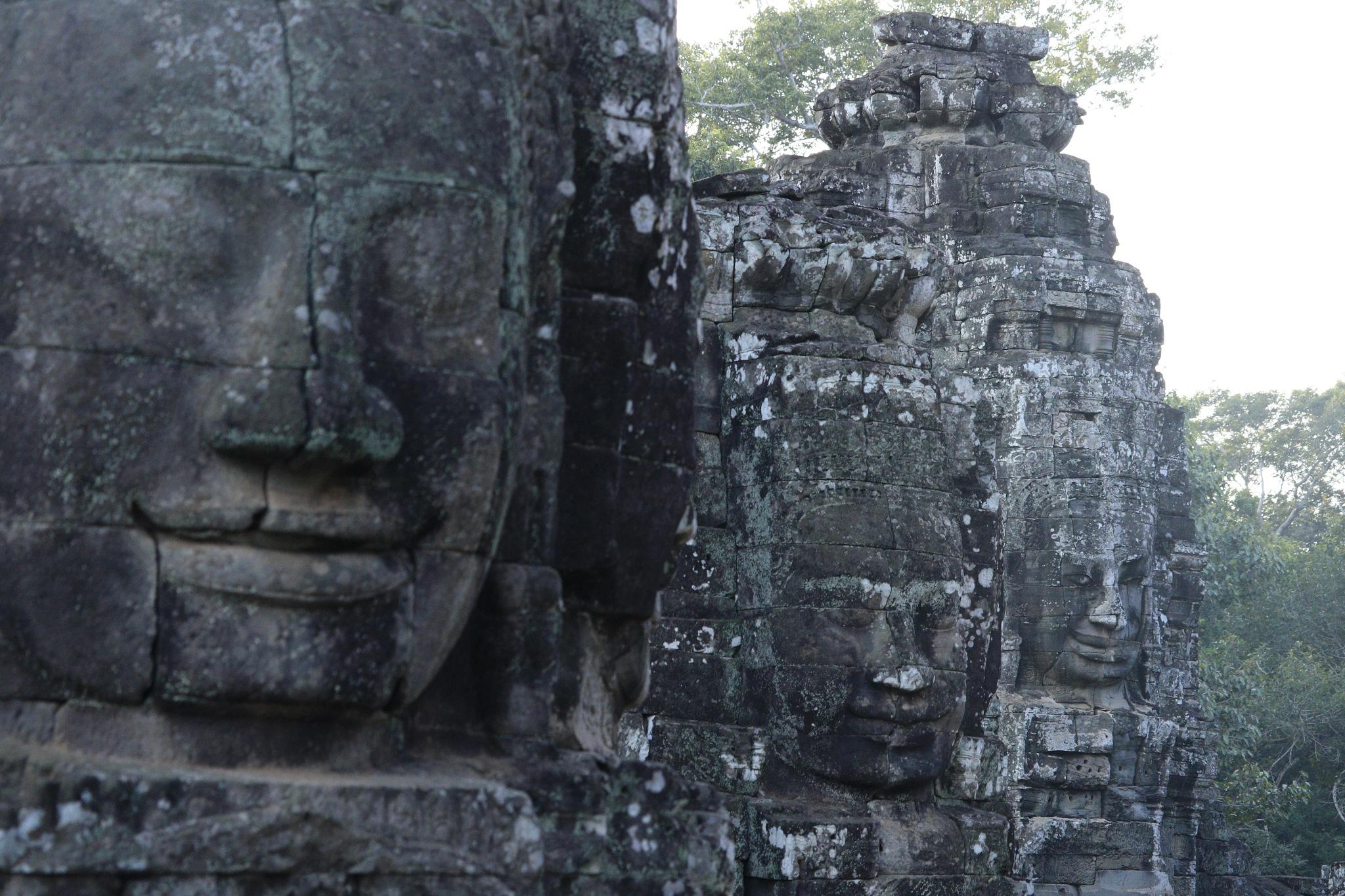 Angkor bayon  by surasaktime