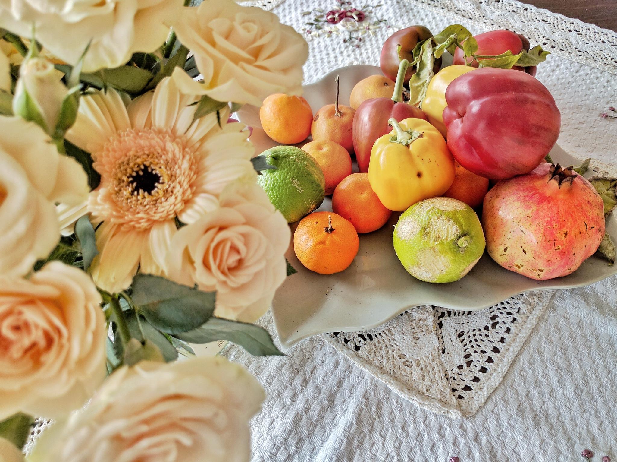 Flowers & fruits by vasilis fragiskatos