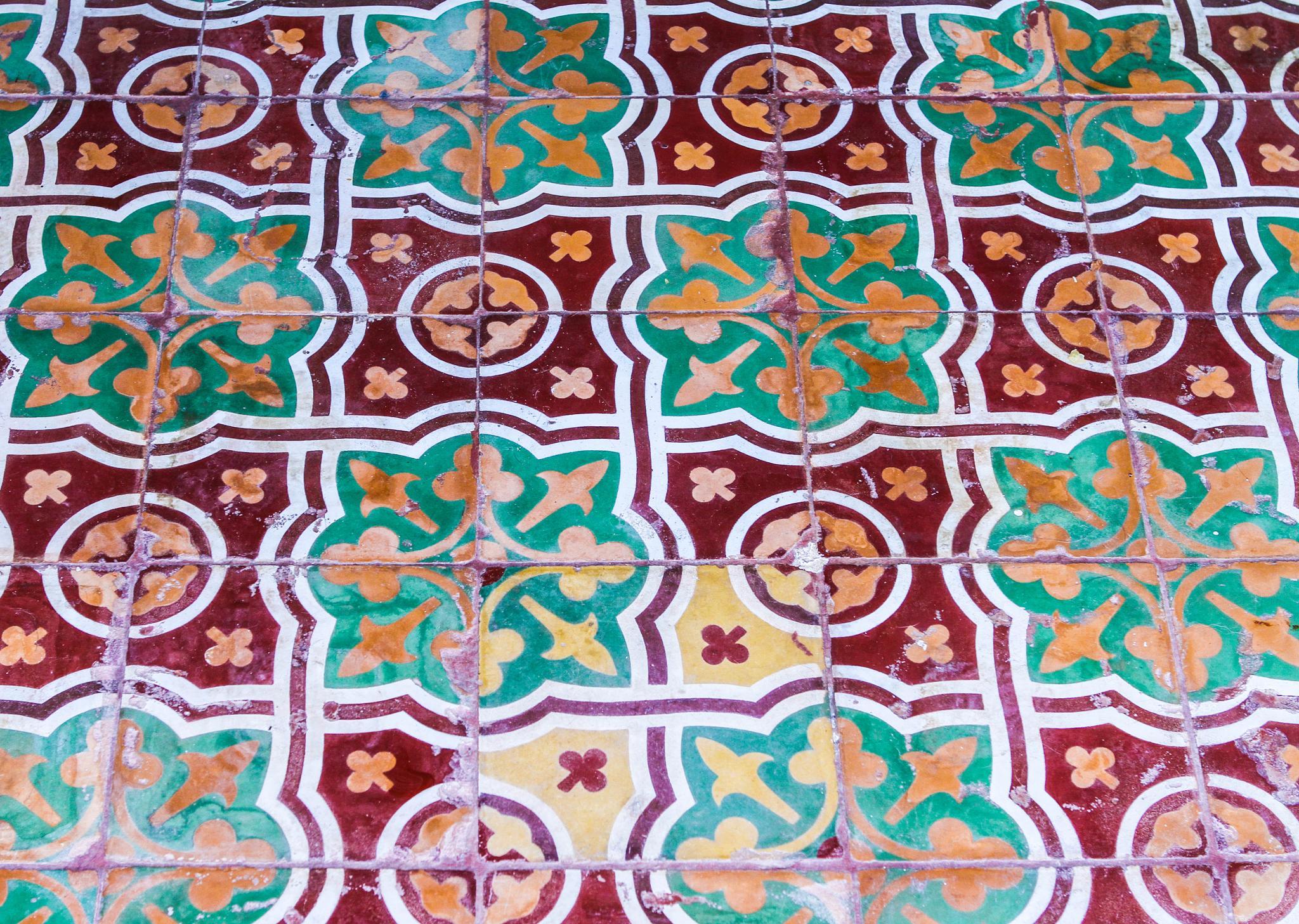 Old tiles by vasilis fragiskatos