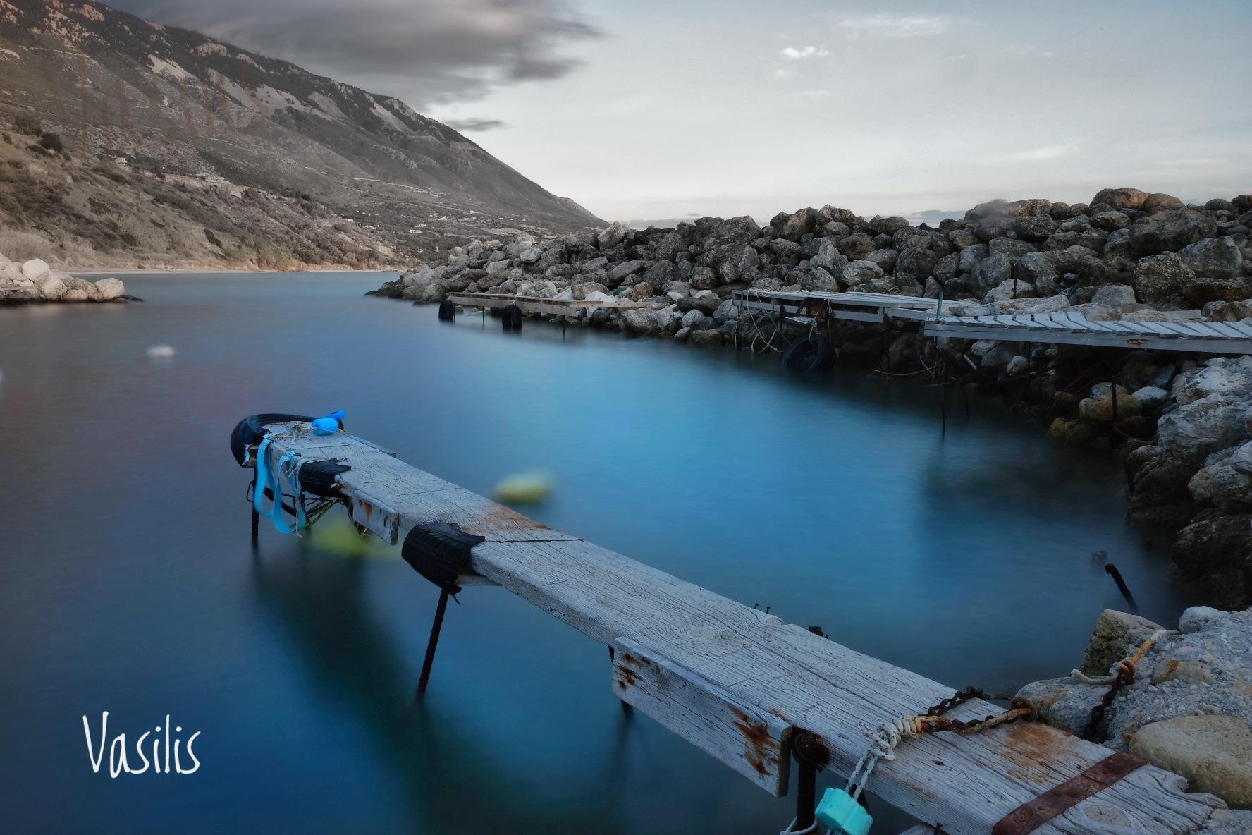 At the jetty by vasilis fragiskatos