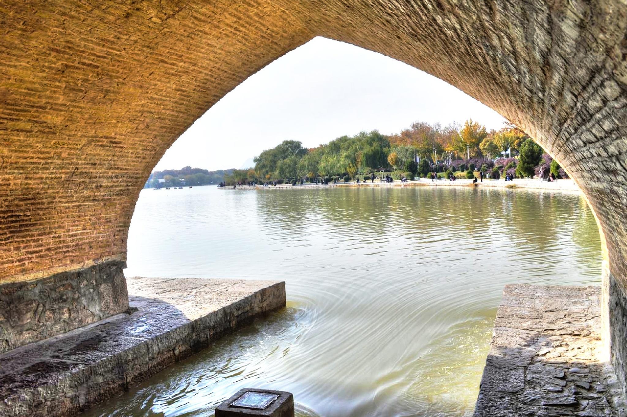 Under the old bridge by Kaiser76