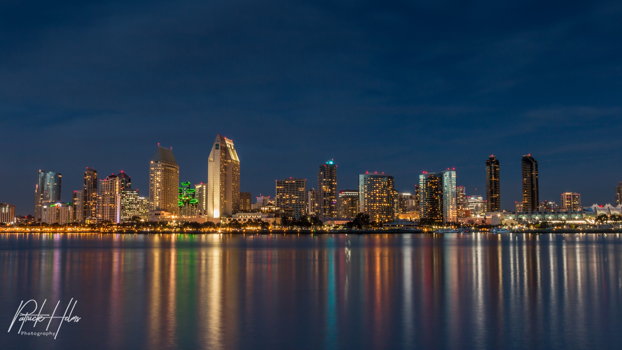 San Diego Skyline by Patrick Helms