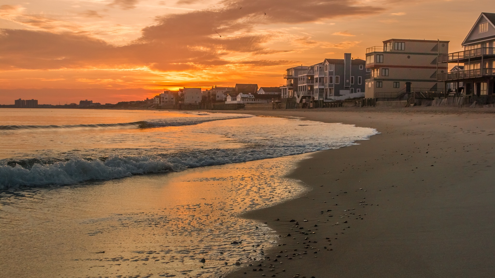 Virginia Beach at sunrise by Patrick Helms