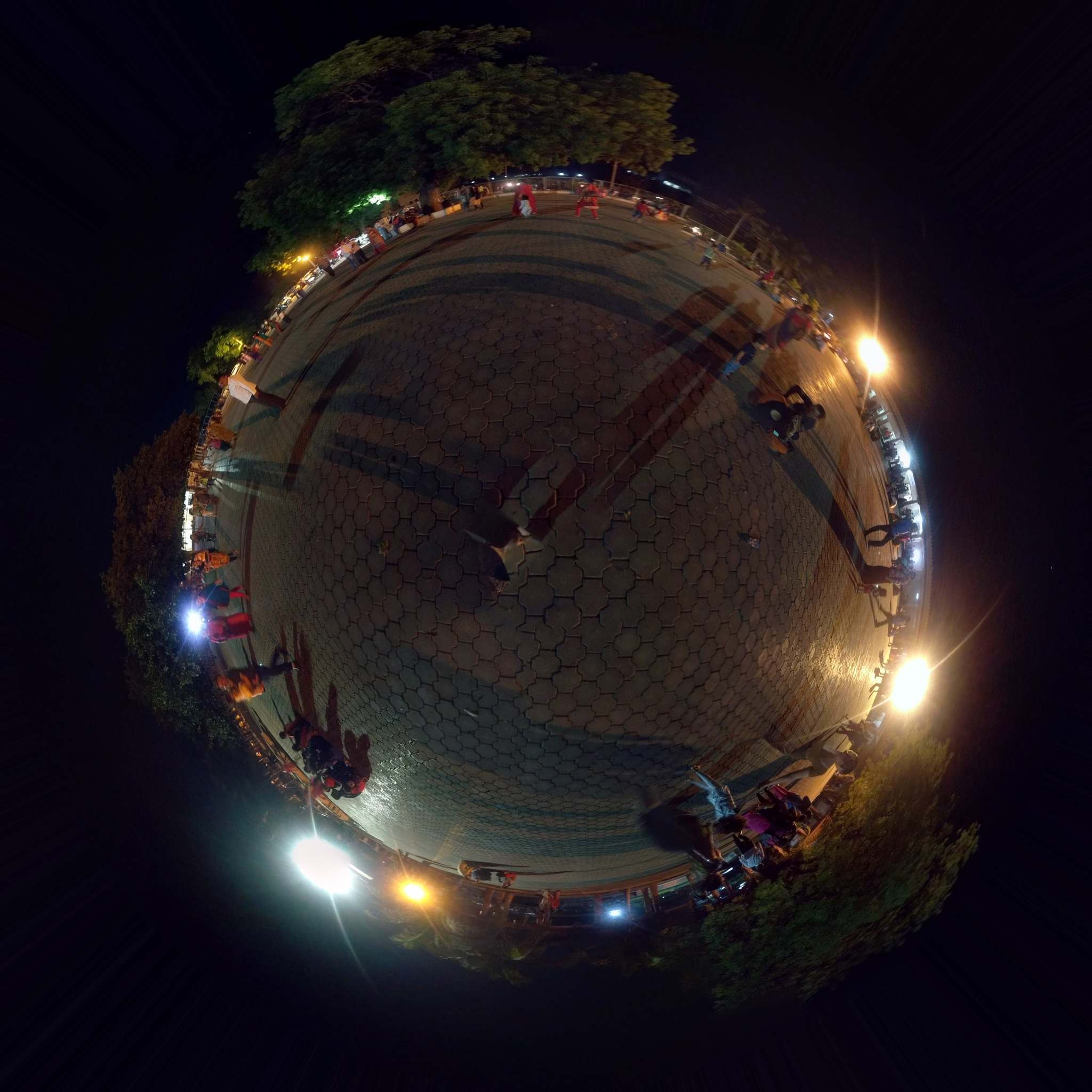 Tiny planet view by Meet Shah