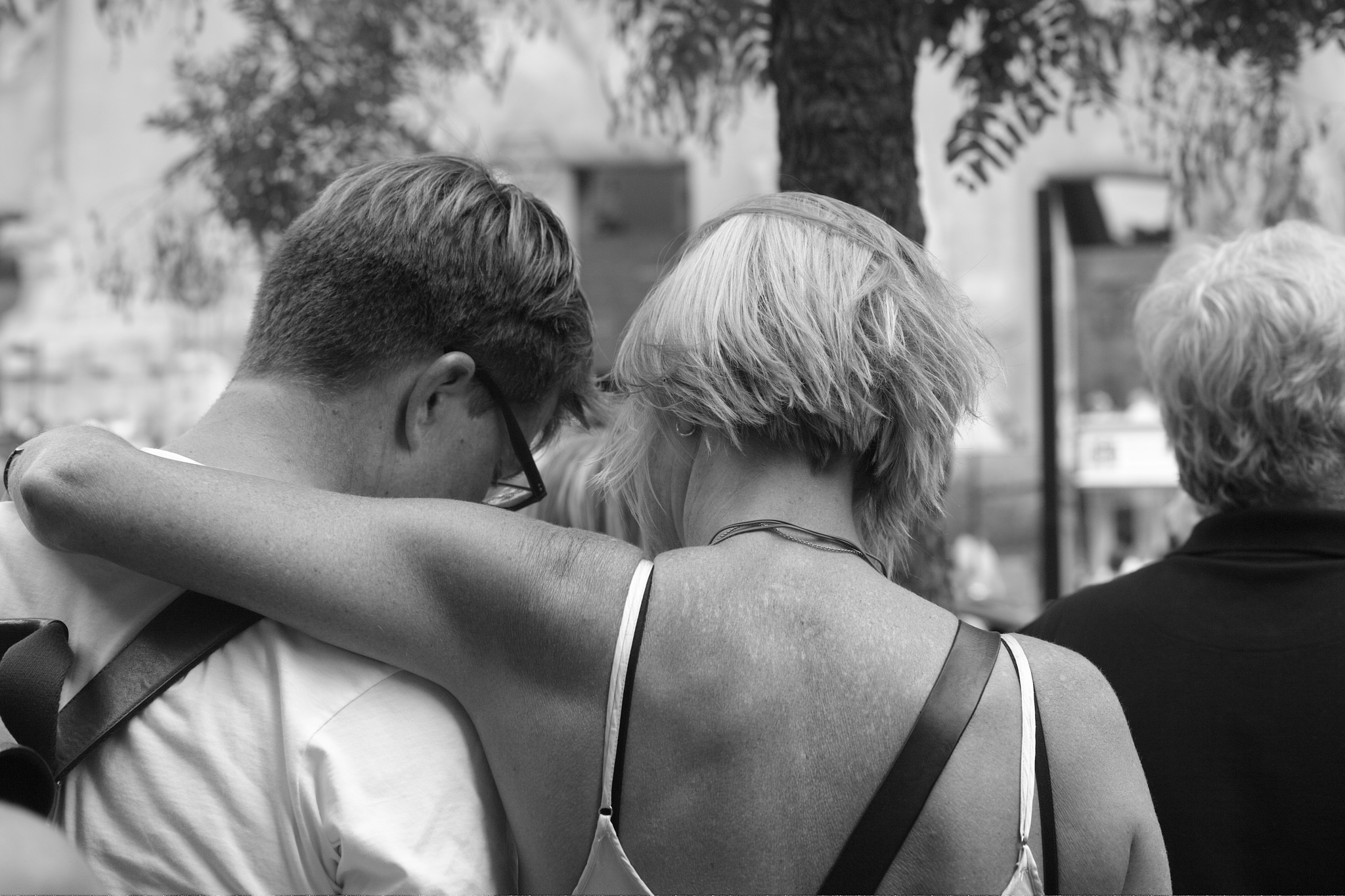 Couple  by christophepoidevin