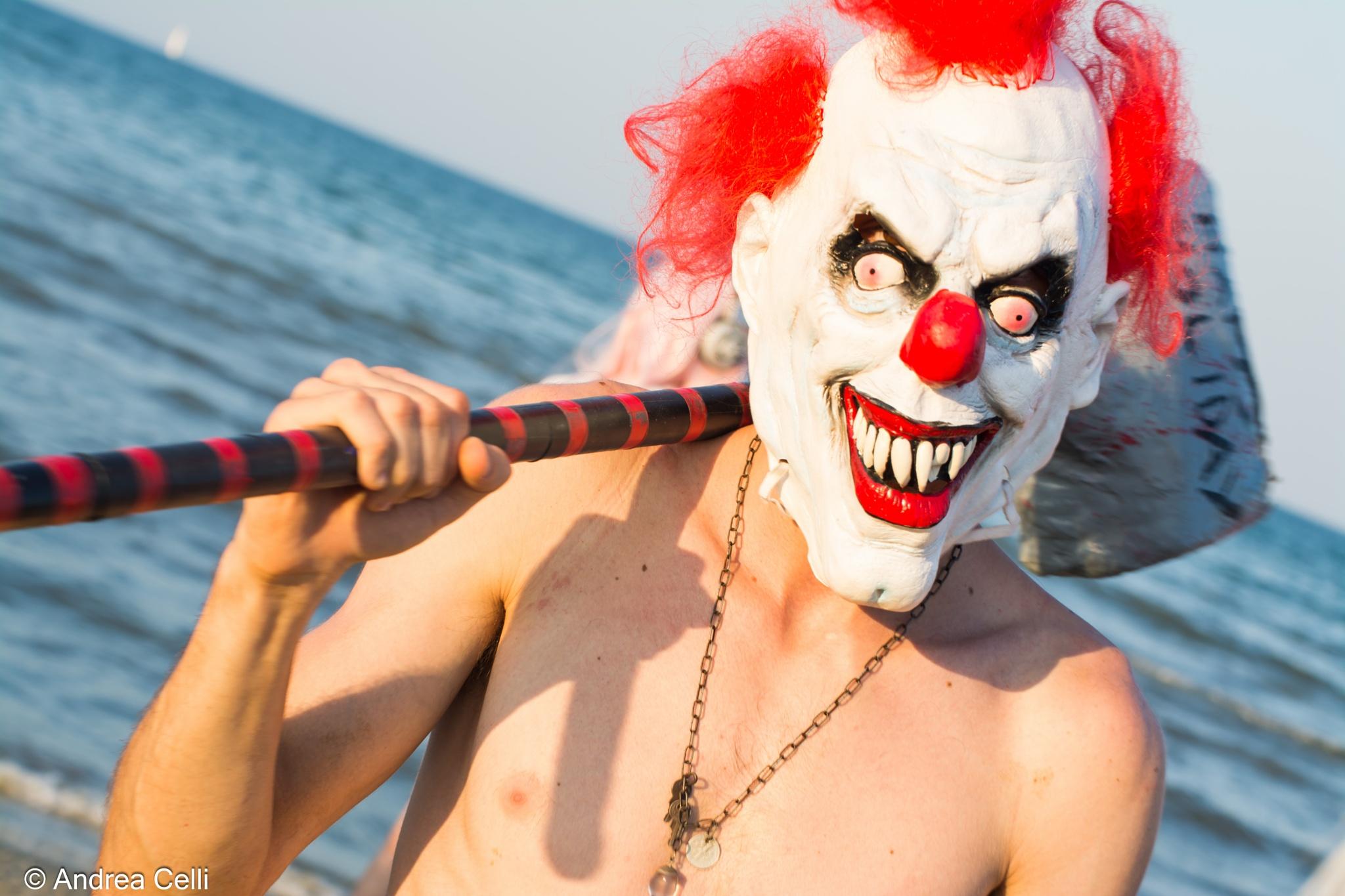 Rimini Comics - Clown by ilcelli76