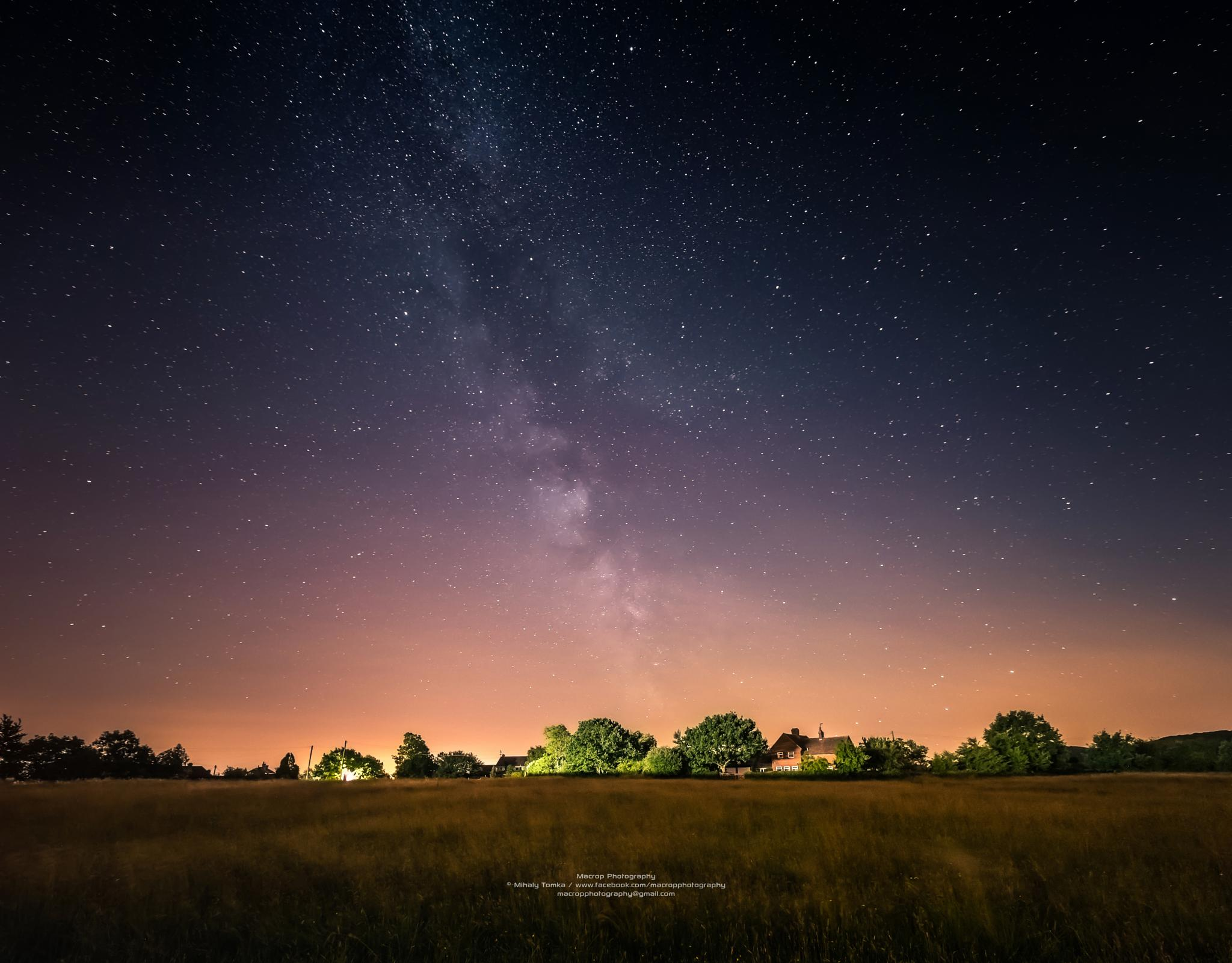 Photo in Landscape #landscapes #nightscapes #milky way #stars #sky #nature #beautiful #starlights