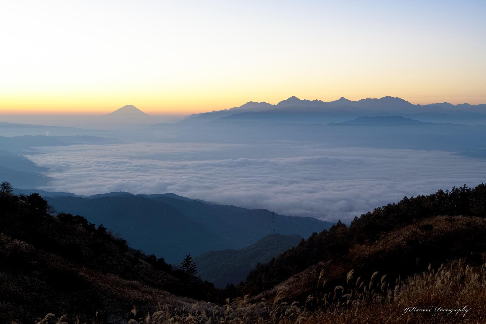 Mt.Fuji by Yuichi Harada