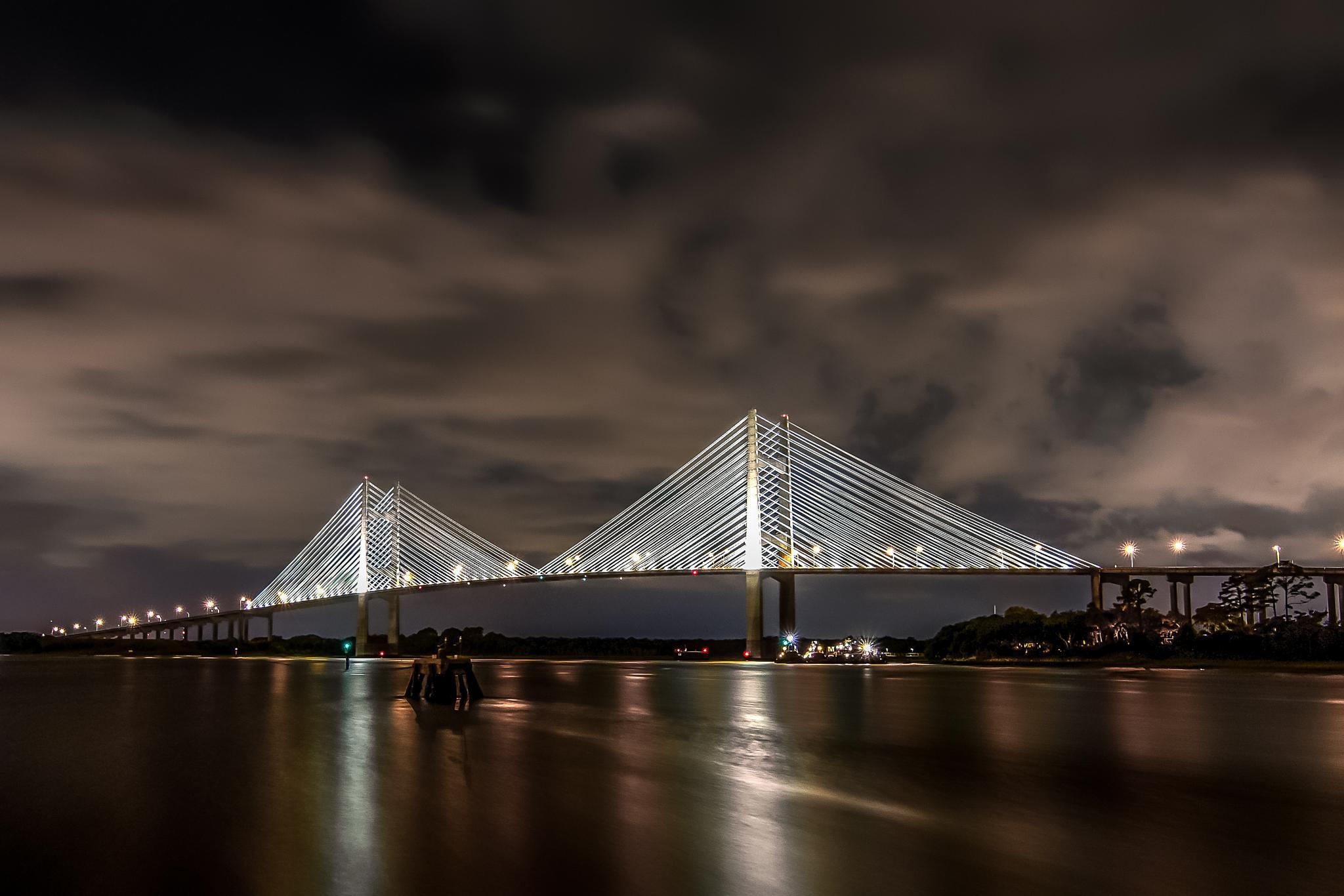 Dames Point Bridge by Royal Hurlbert