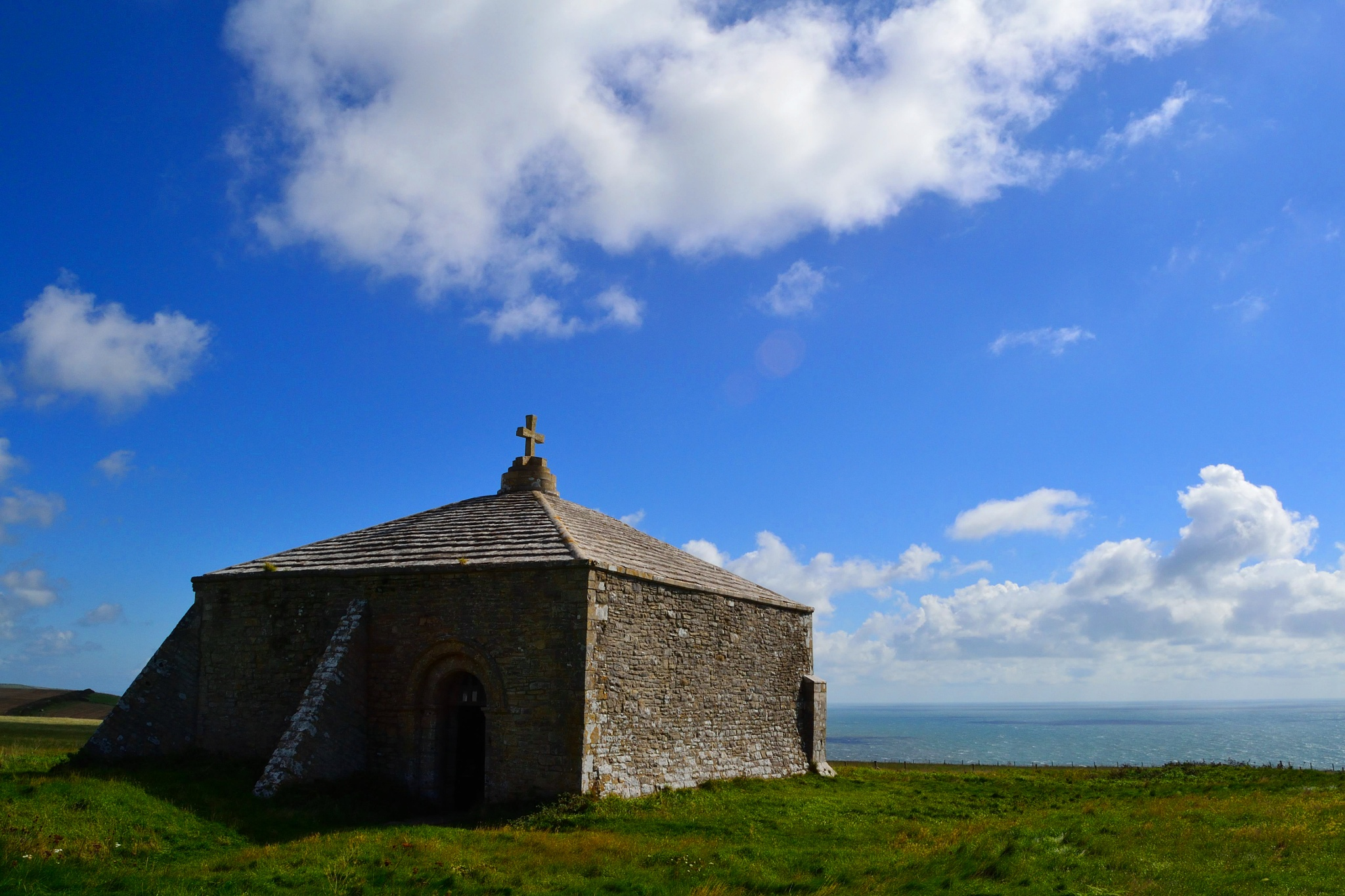 St Aldhelms Chapel by stitchercat