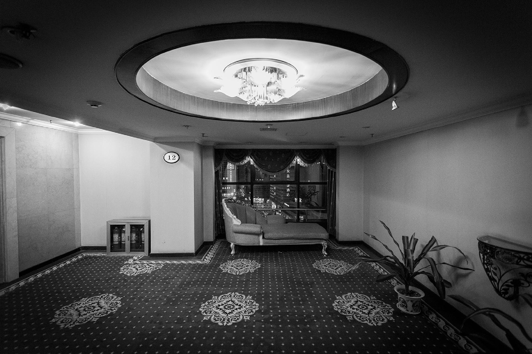 The dark hotel. by Pedro Serapio