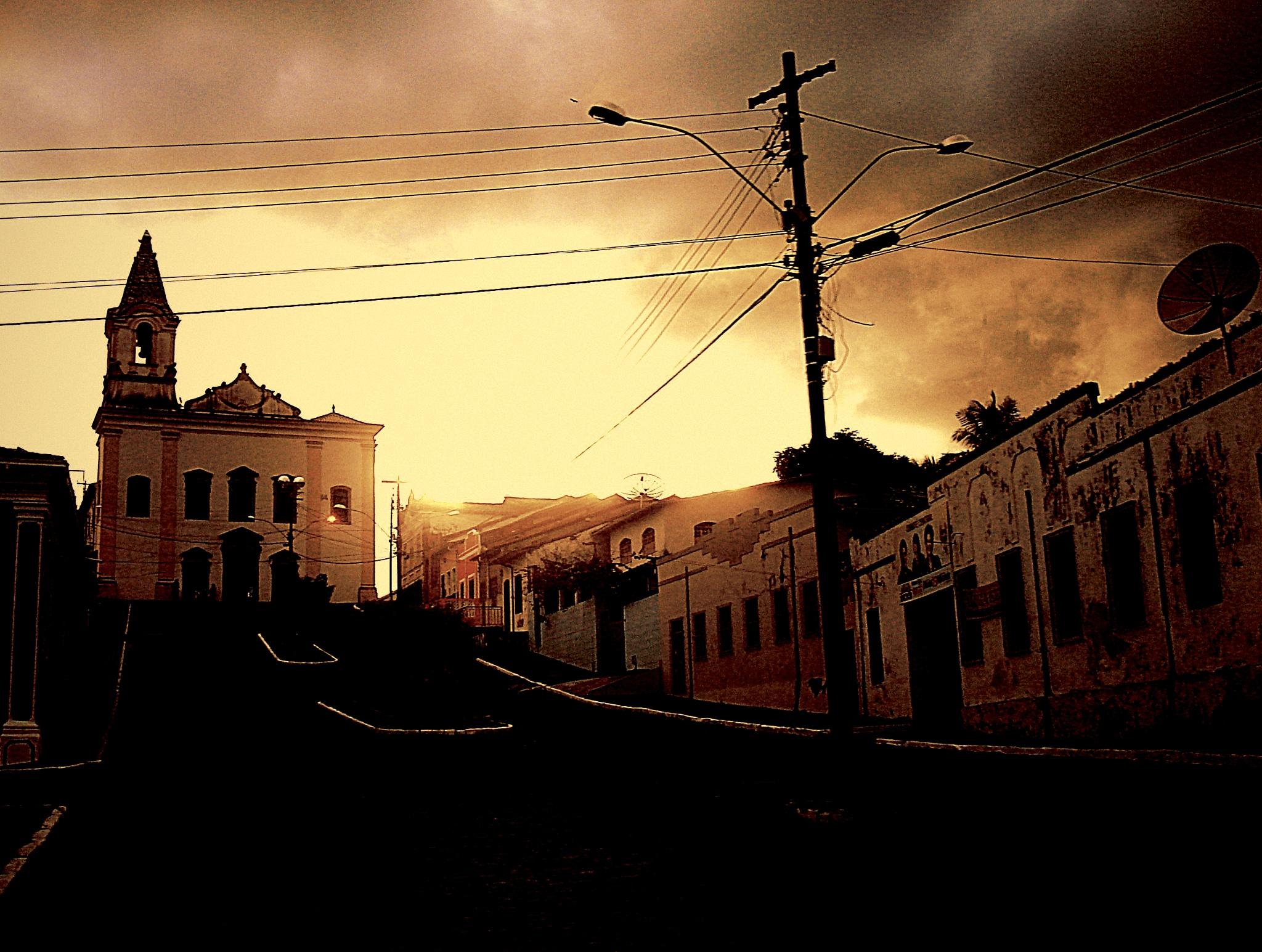 The night arriving in Santo Amaro by Fernanda Salem