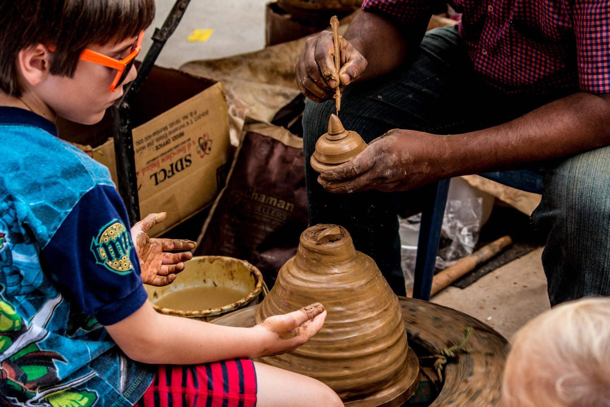 pottery by Sankar Essakki