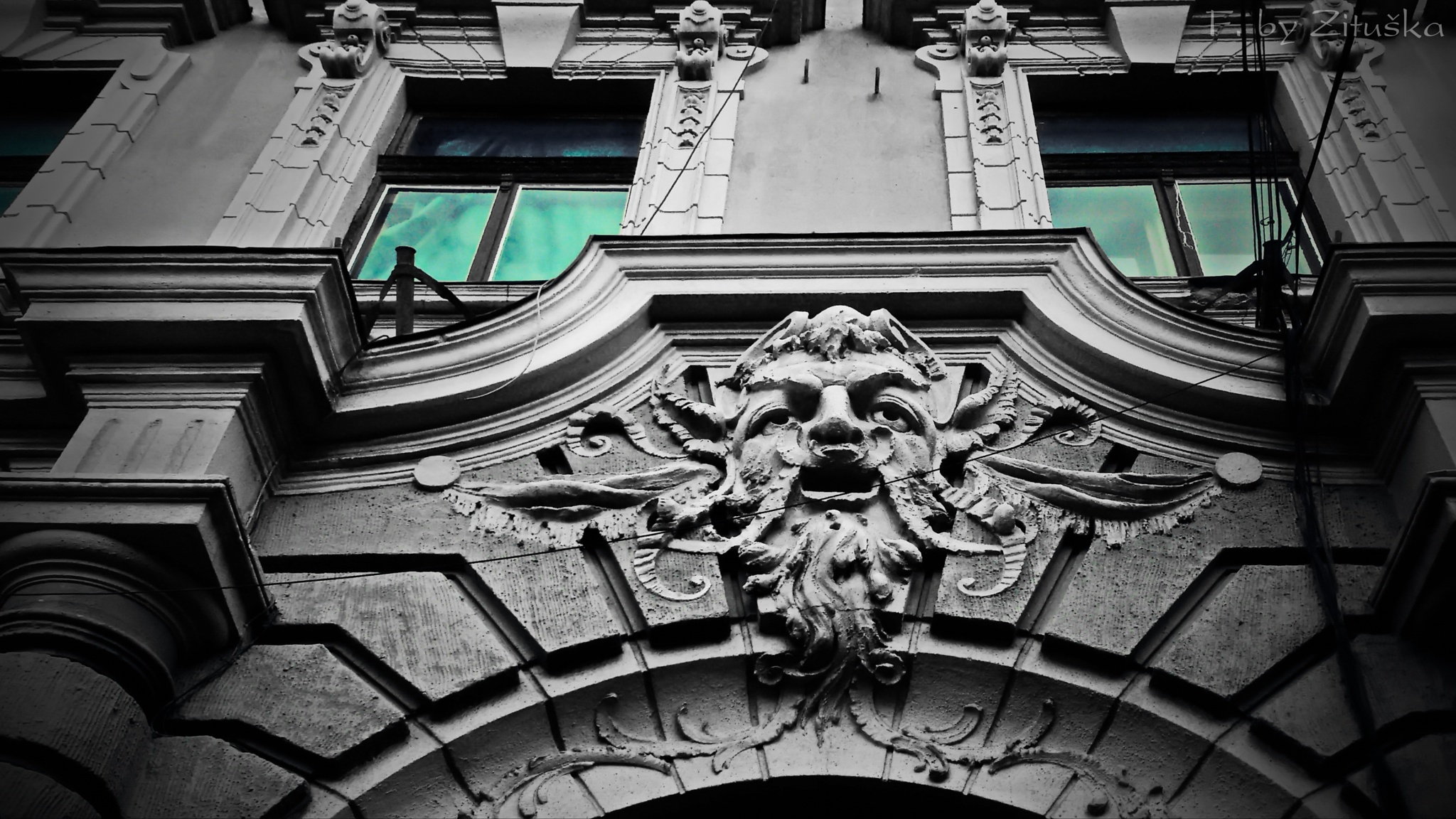 an old building :))  by Zituska