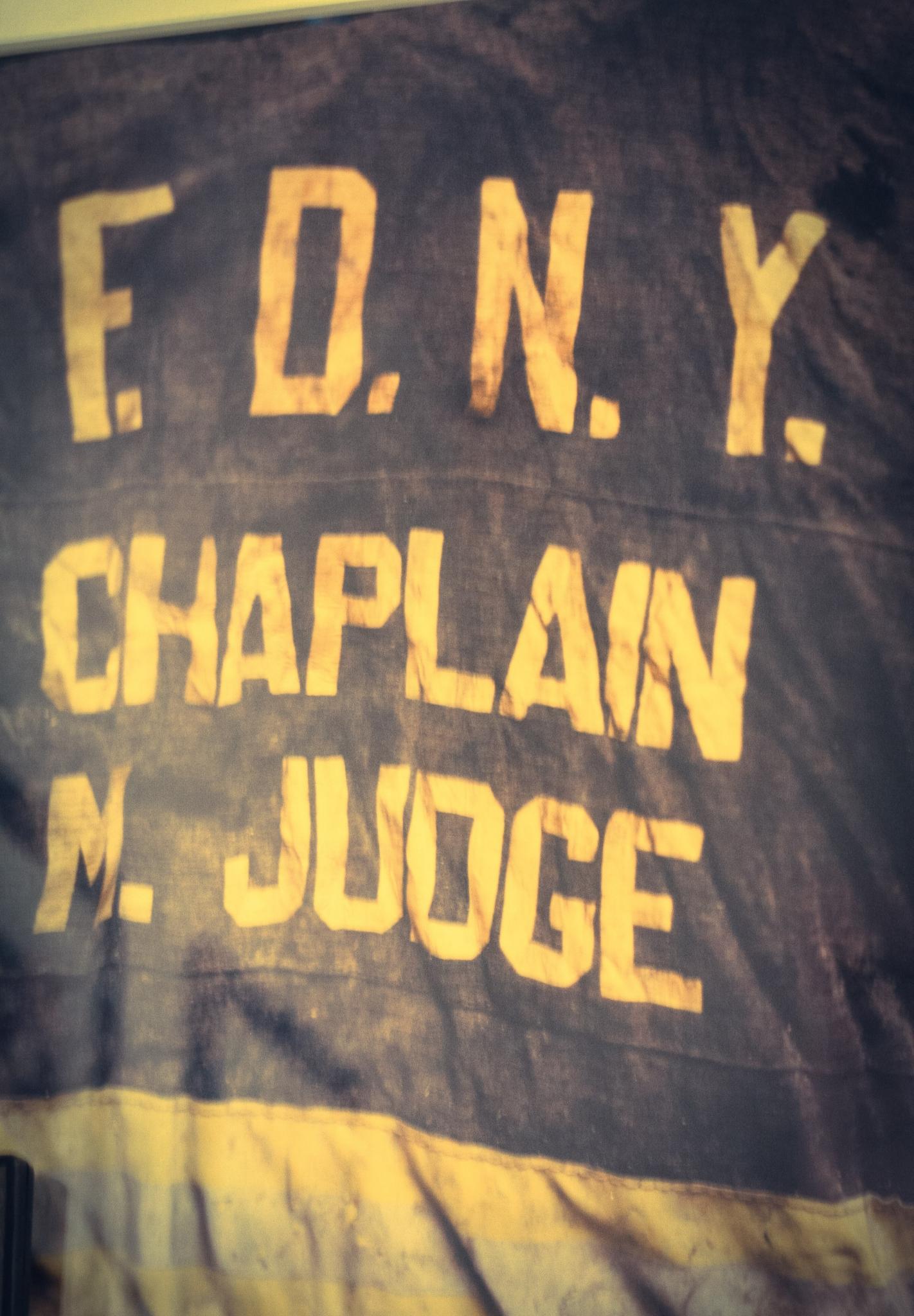 911 Remembering FDNY Fire Chaplain Mychal  by Shelby Davis
