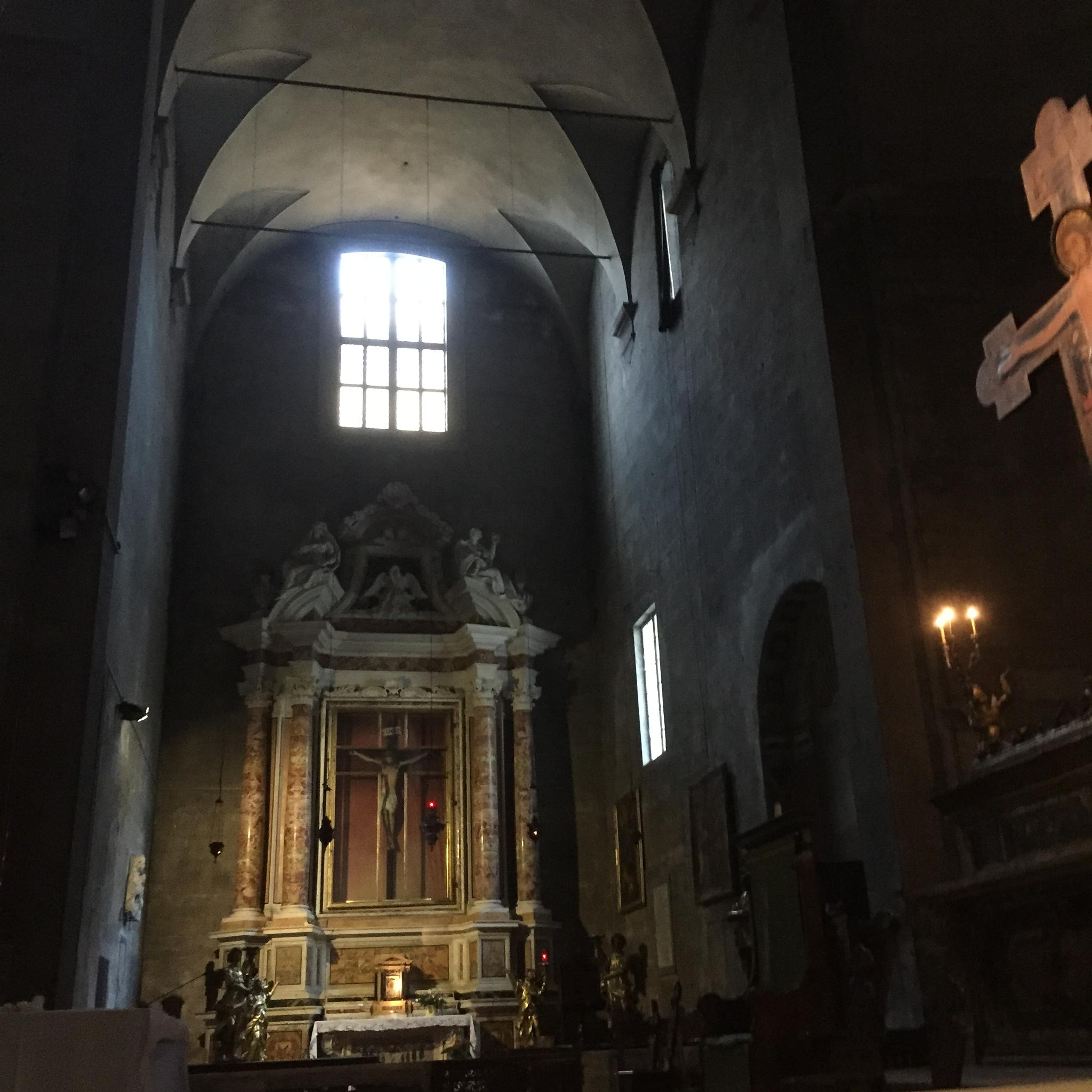 San Michele in Foro Church in Lucca Italy by Emma