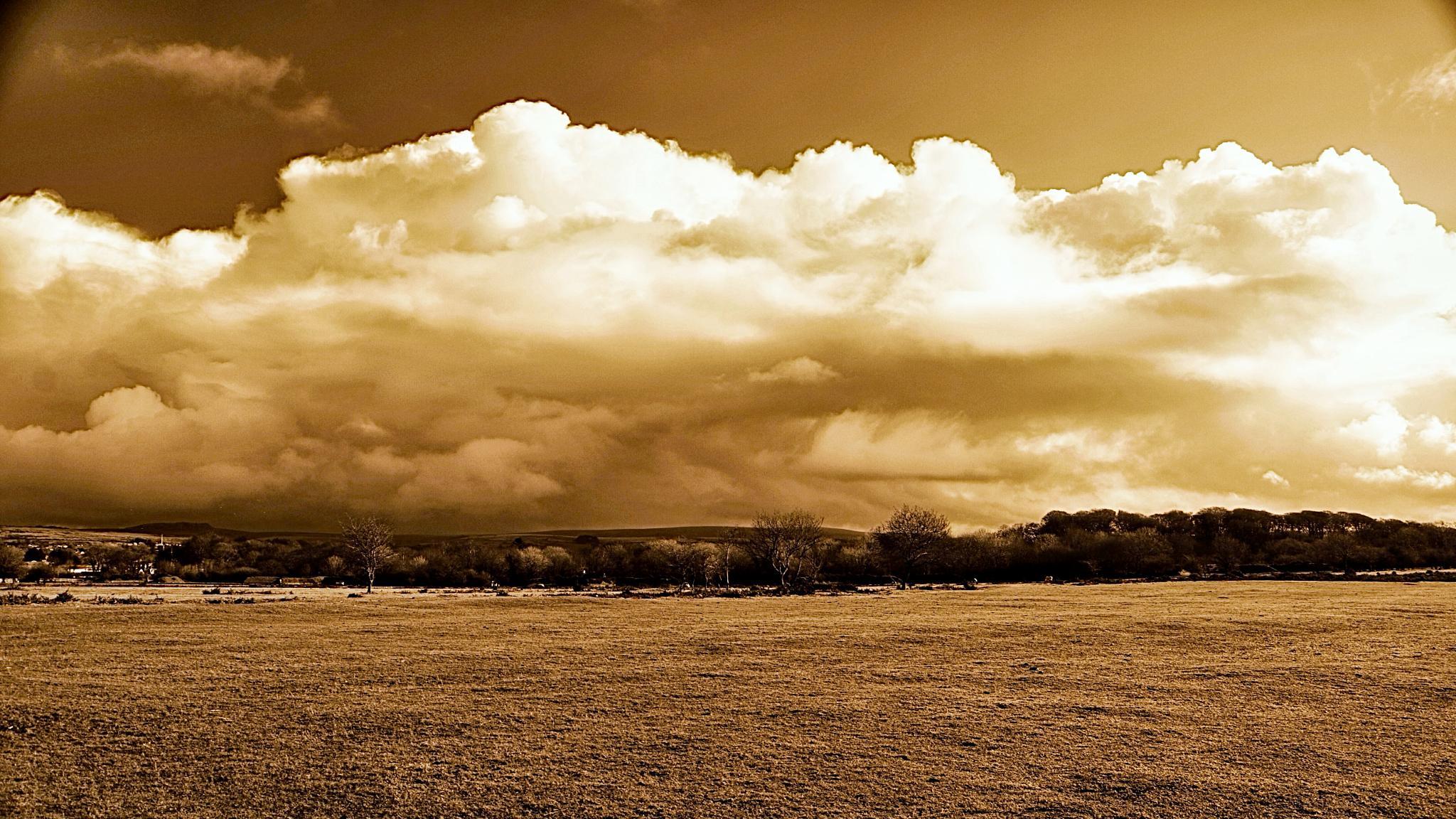 Cloud over Dartmoor by johncedriccoles123