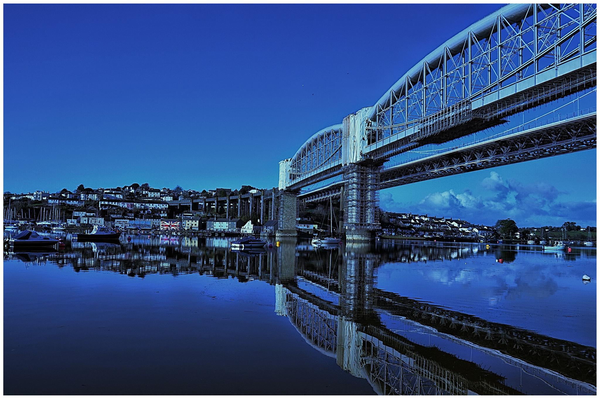 Royal Albert Bridge (2) by johncedriccoles123