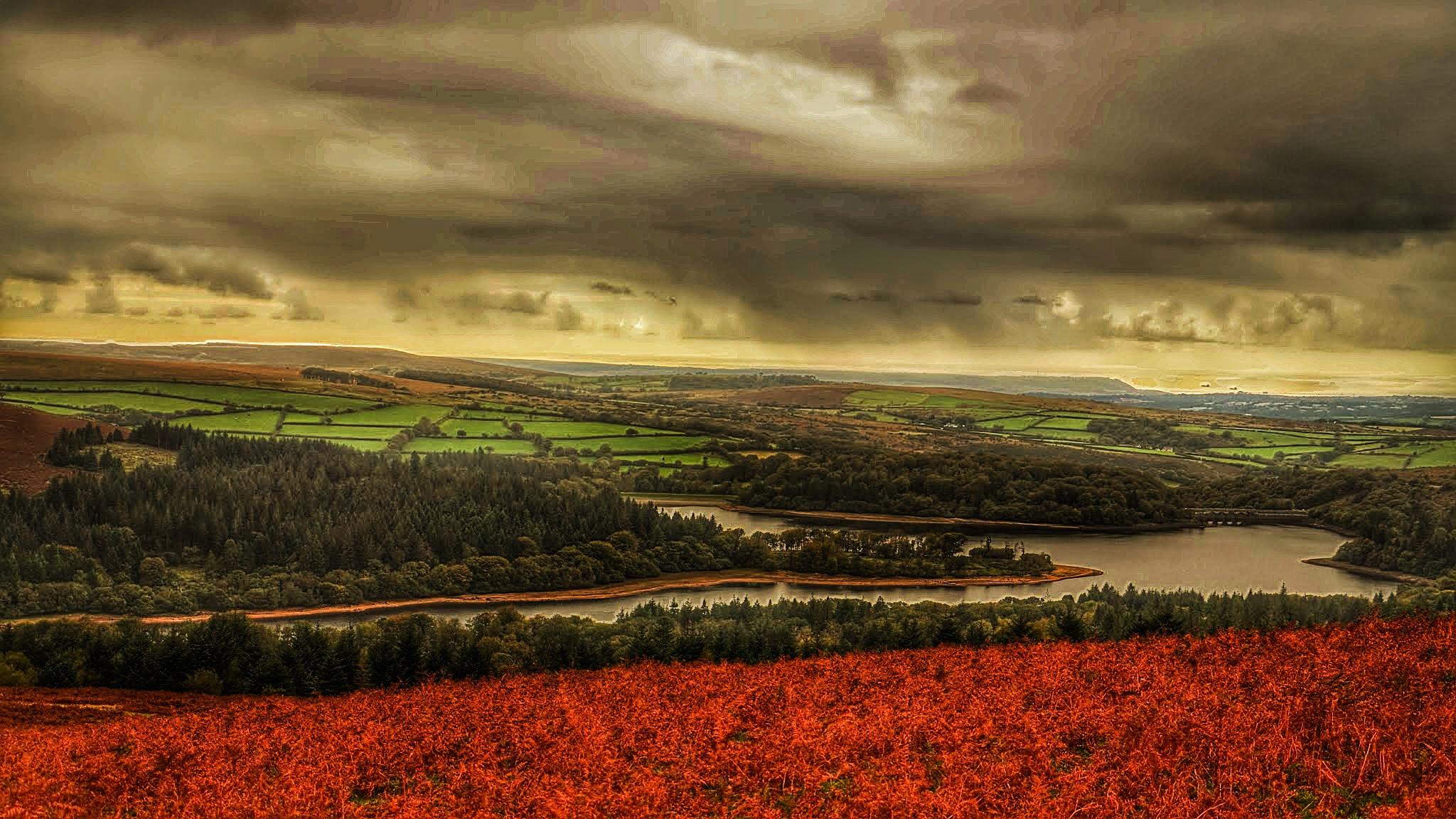 Autumn on Dartmoor by johncedriccoles123