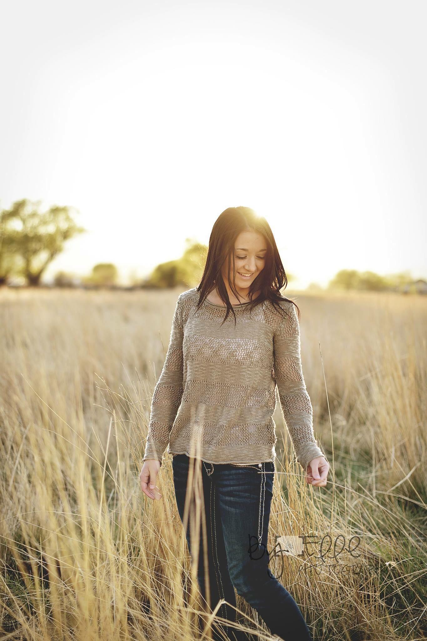 Farm girl by Byelle