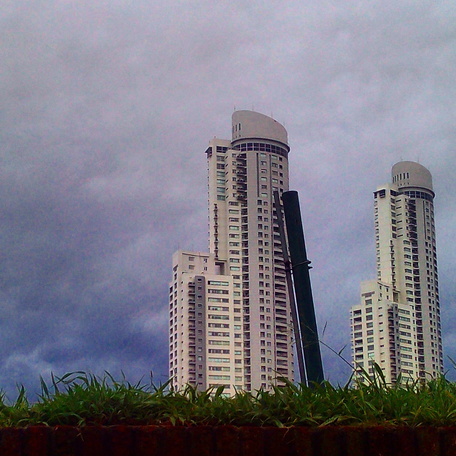 two towers by Juan Manuel