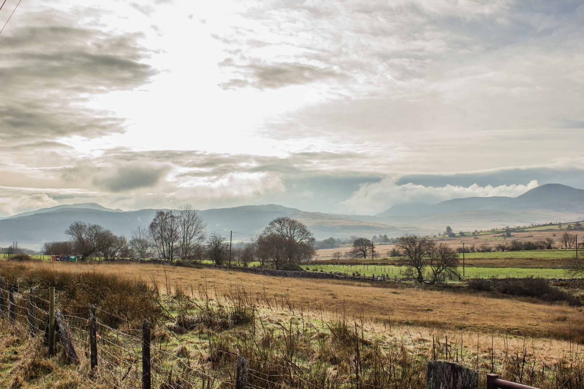 Winter's Day in the Welsh Countryside by DebbieOlivari
