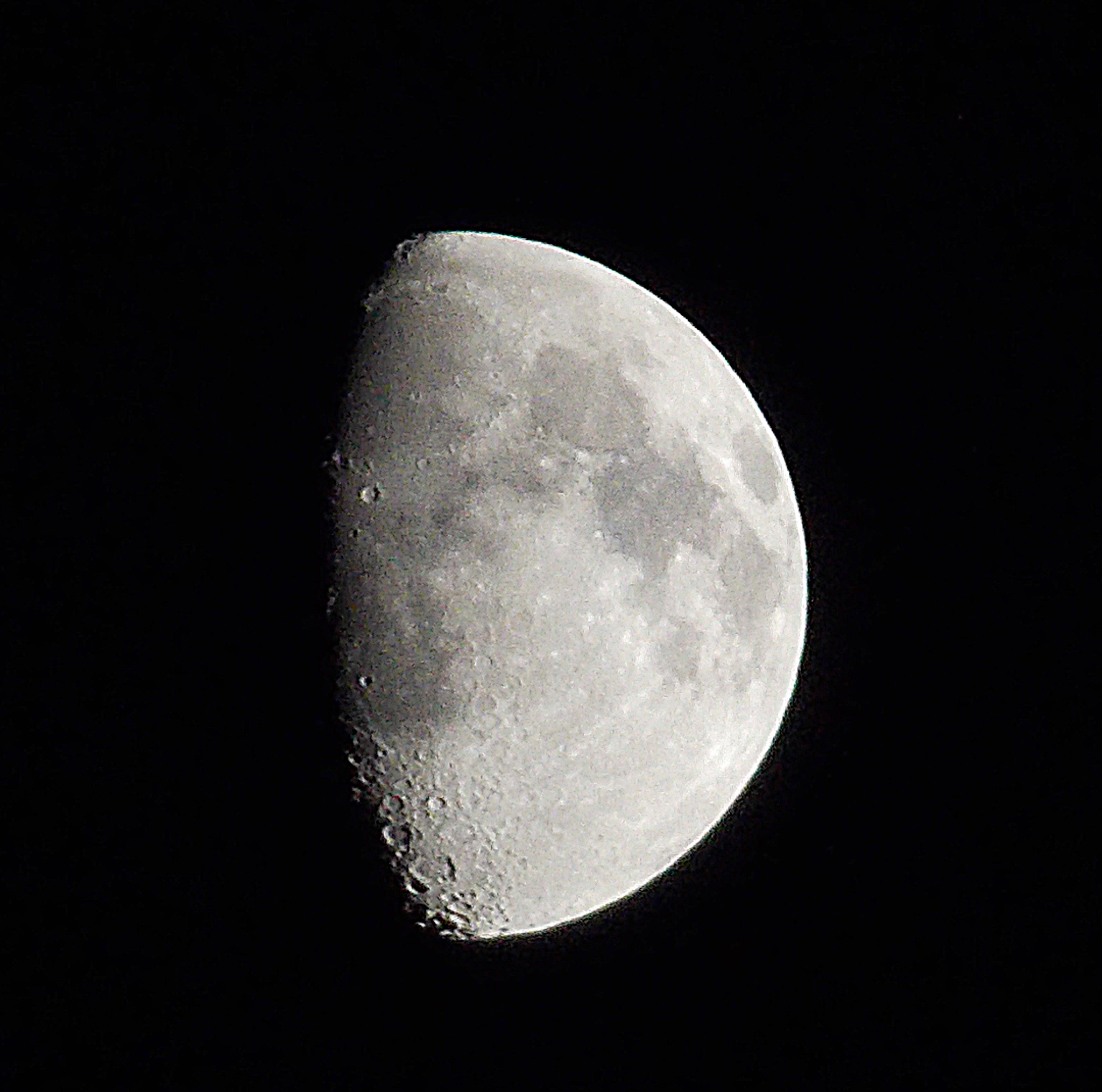 moon from my back yard by imptealin