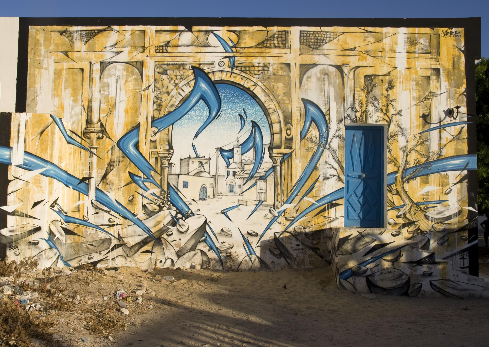living of the wall - DjerbaHood (by Chama Cammoun) by Ghoul