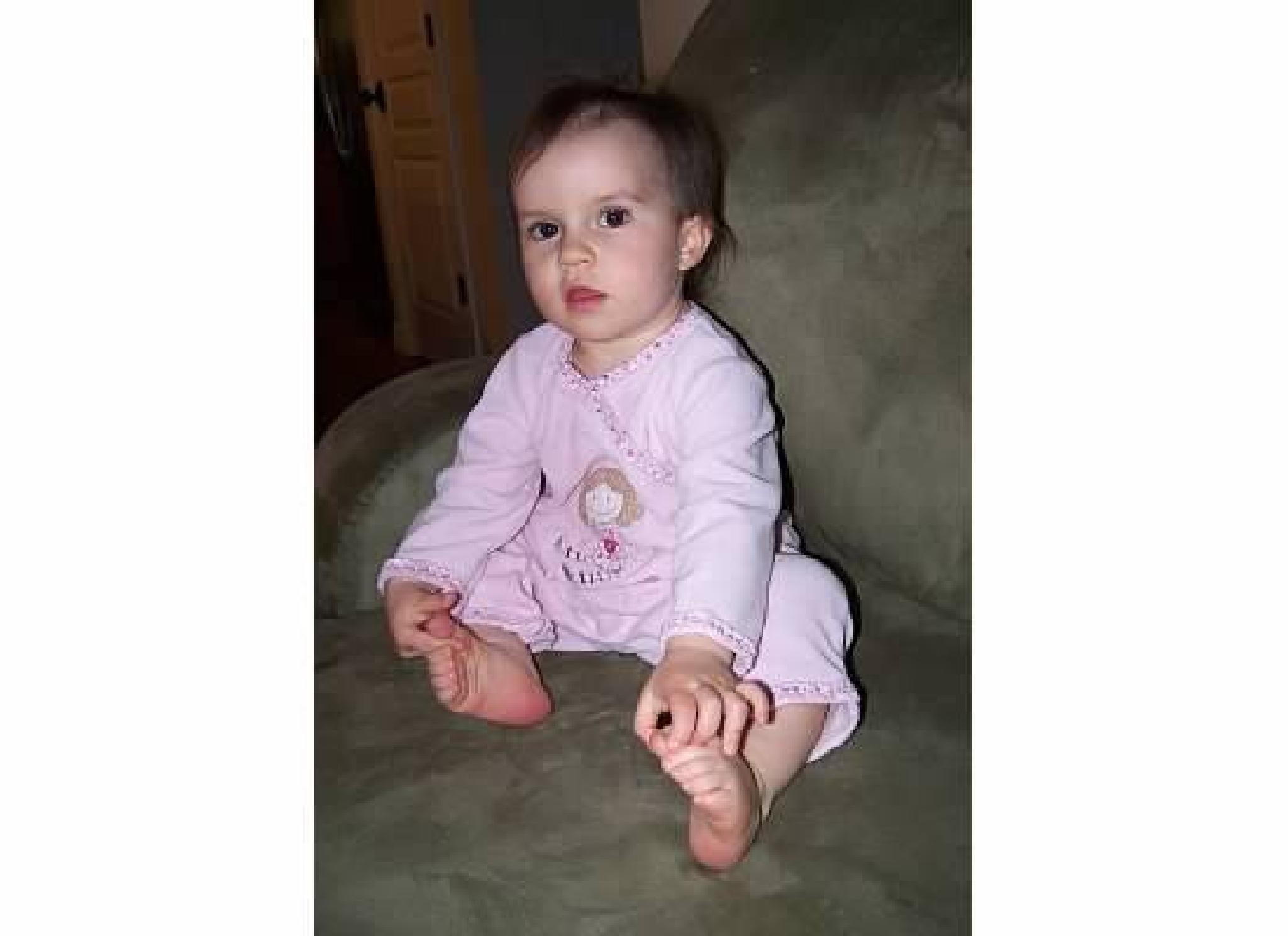 Granddaughter Avery by Sherry Paris