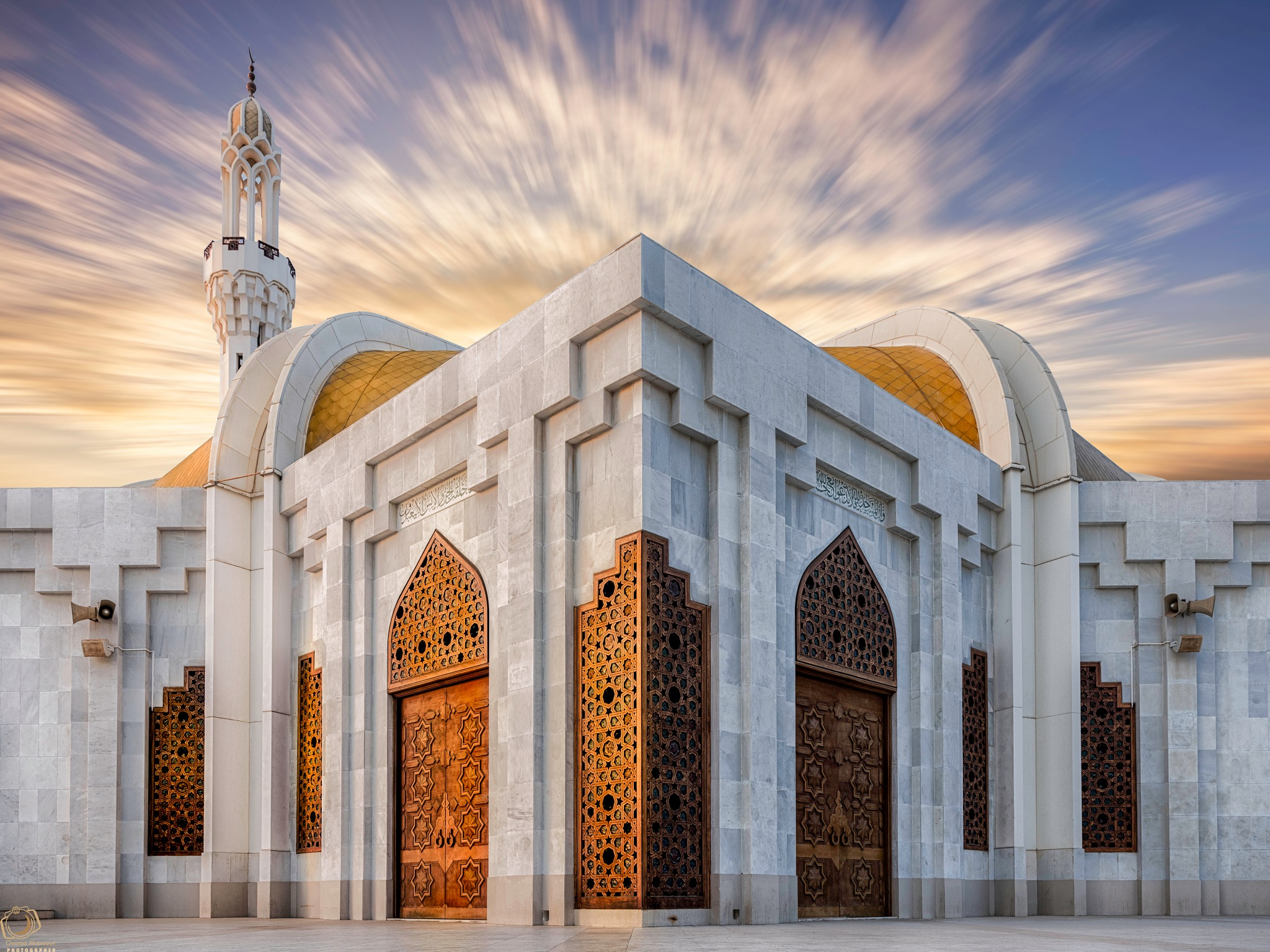Mosque by Osama Mansour
