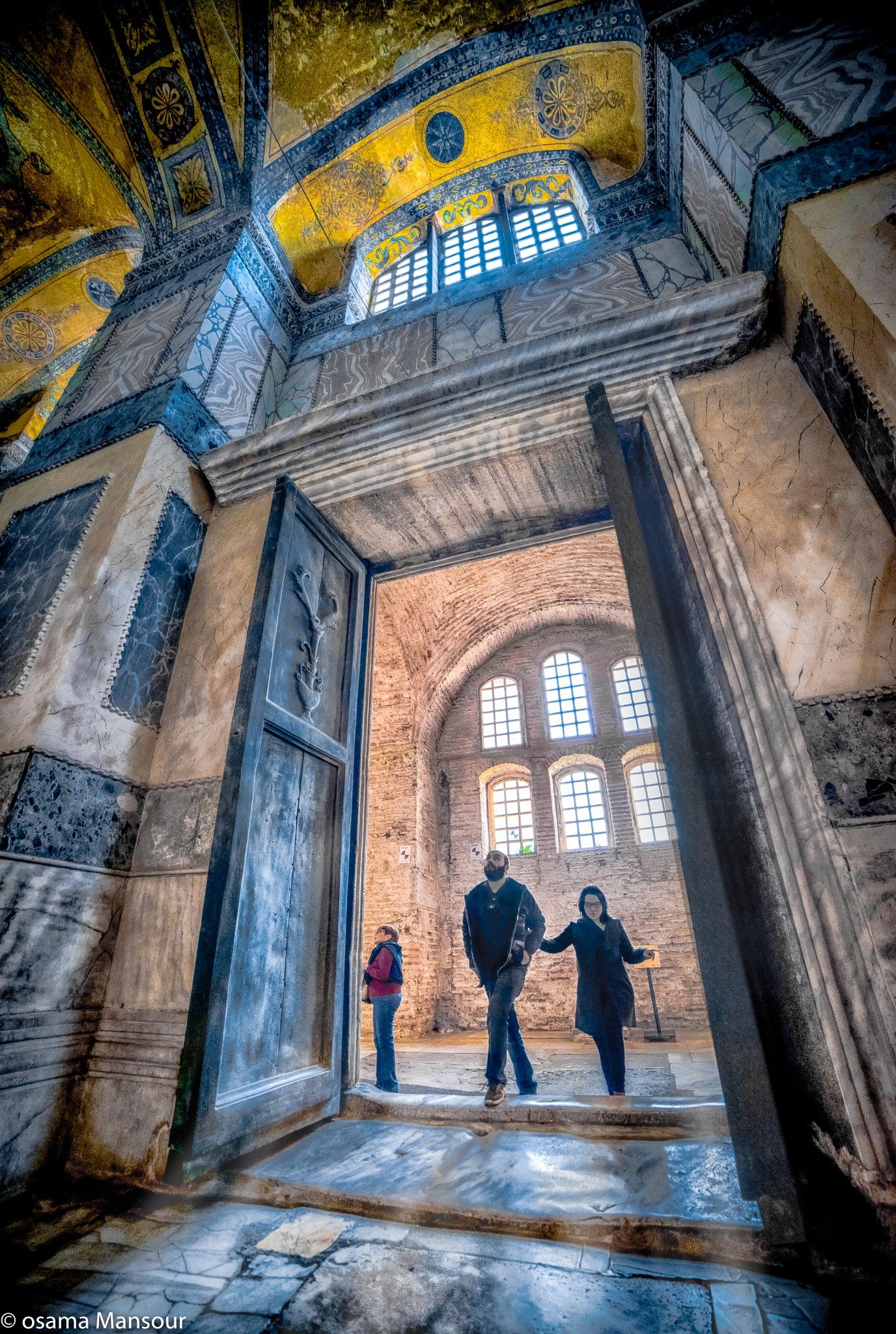 together - Aya Sofia - Istanbul by Osama Mansour