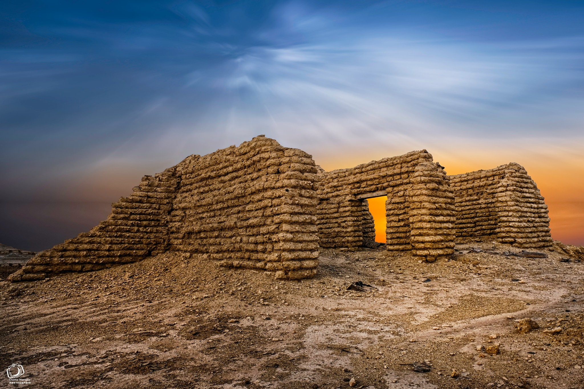 Ghost town by Osama Mansour