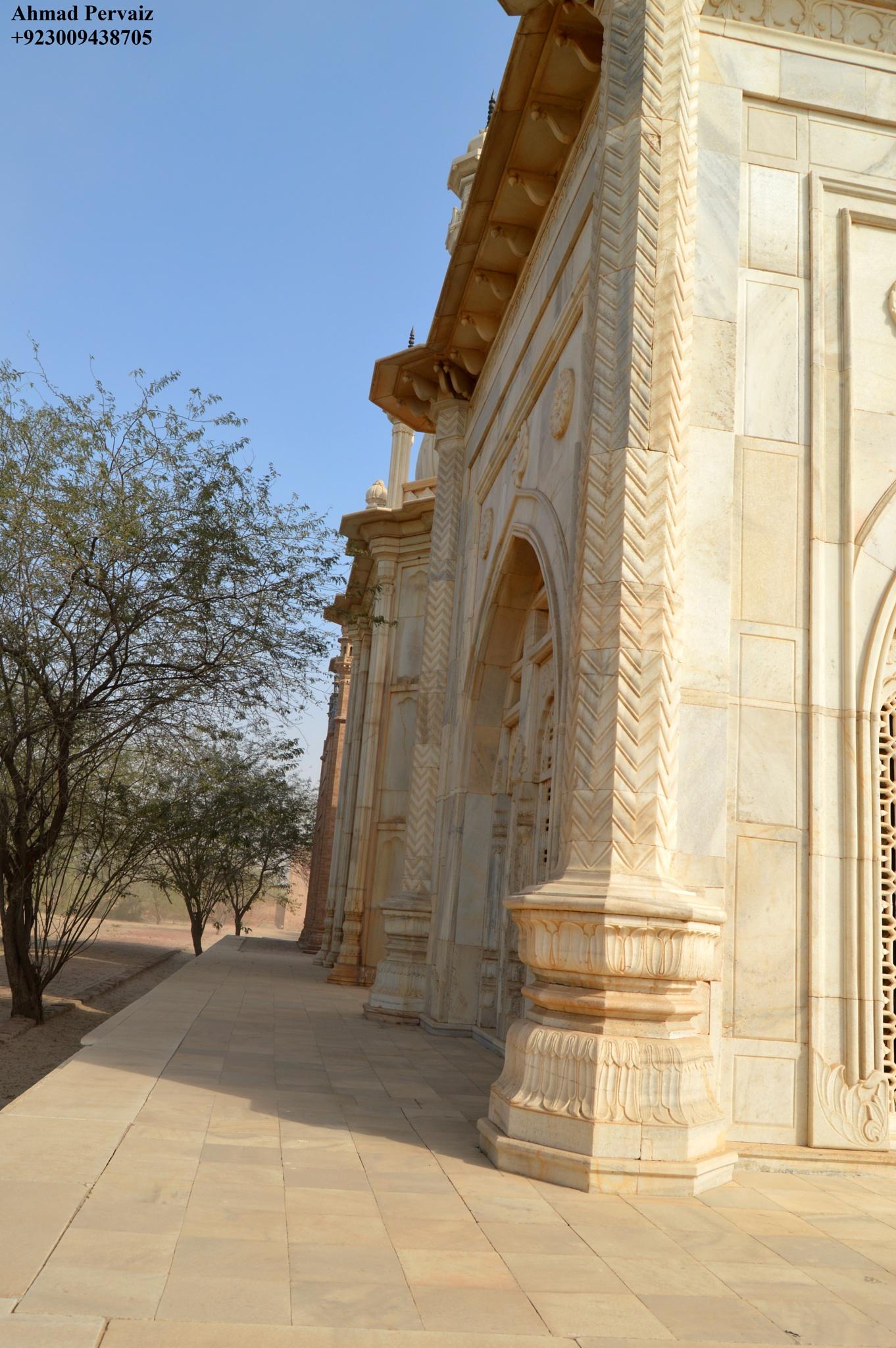 Tomb of Queen Victoria of Bahawalpur, Pakistan. by pervaiz_jiu-jitsu
