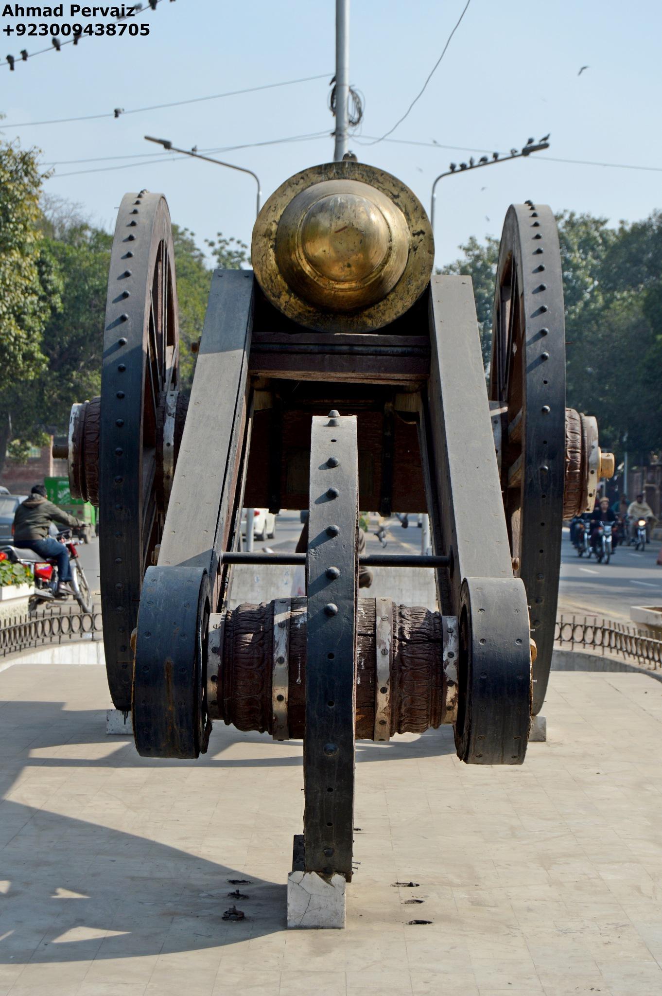 The Zamzama Cannon by pervaiz_jiu-jitsu