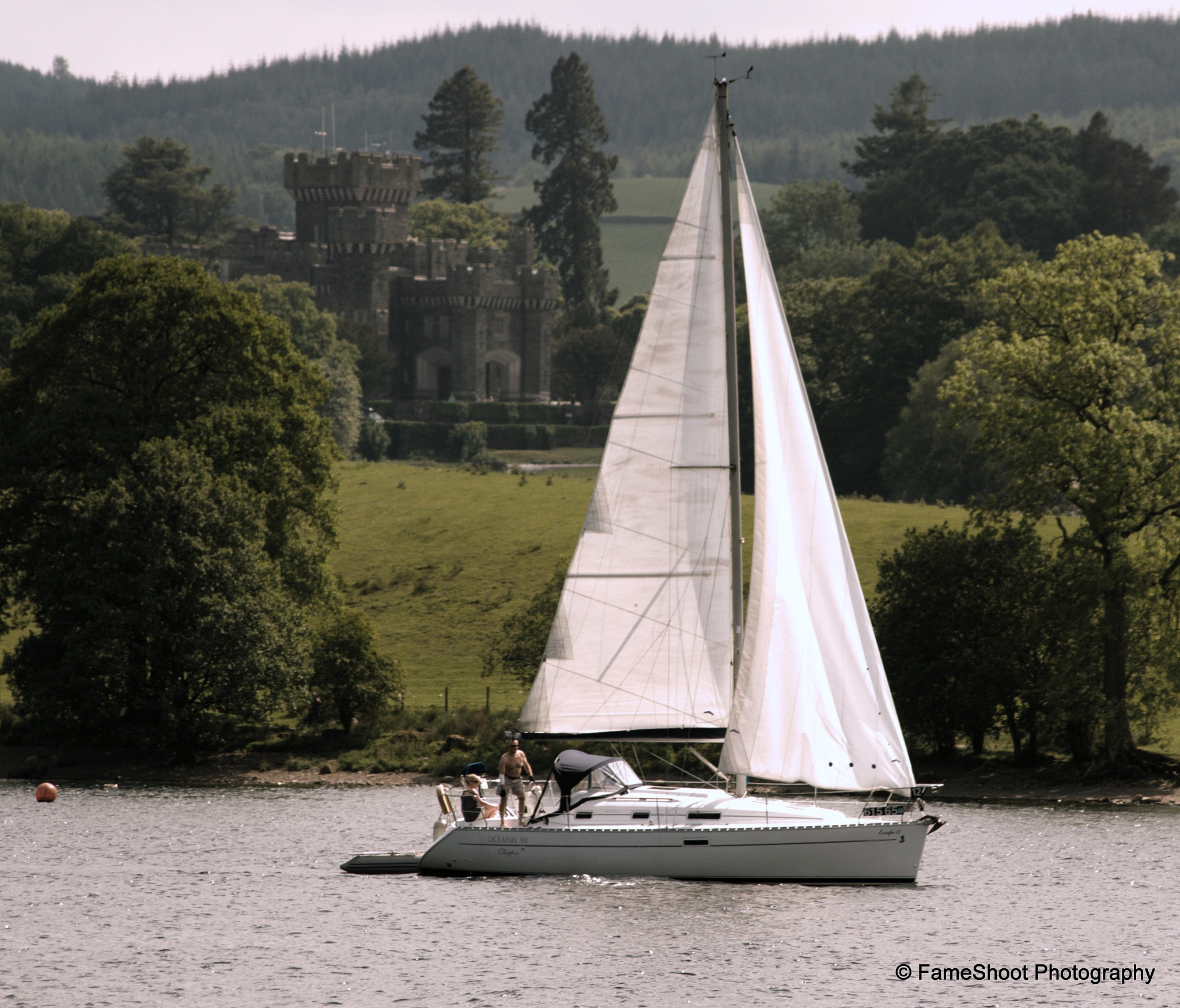 Photo in Vintage #hawkshead #winedermere #castle #sailors #water #lake #biggest #ambleside