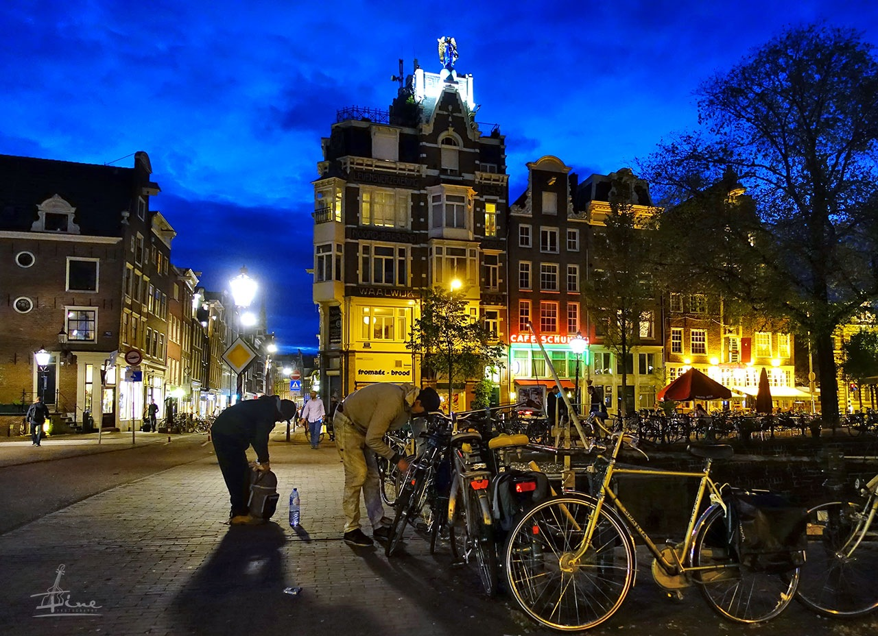 Amsterdam At Night, May 2017 by Zoriy Fine