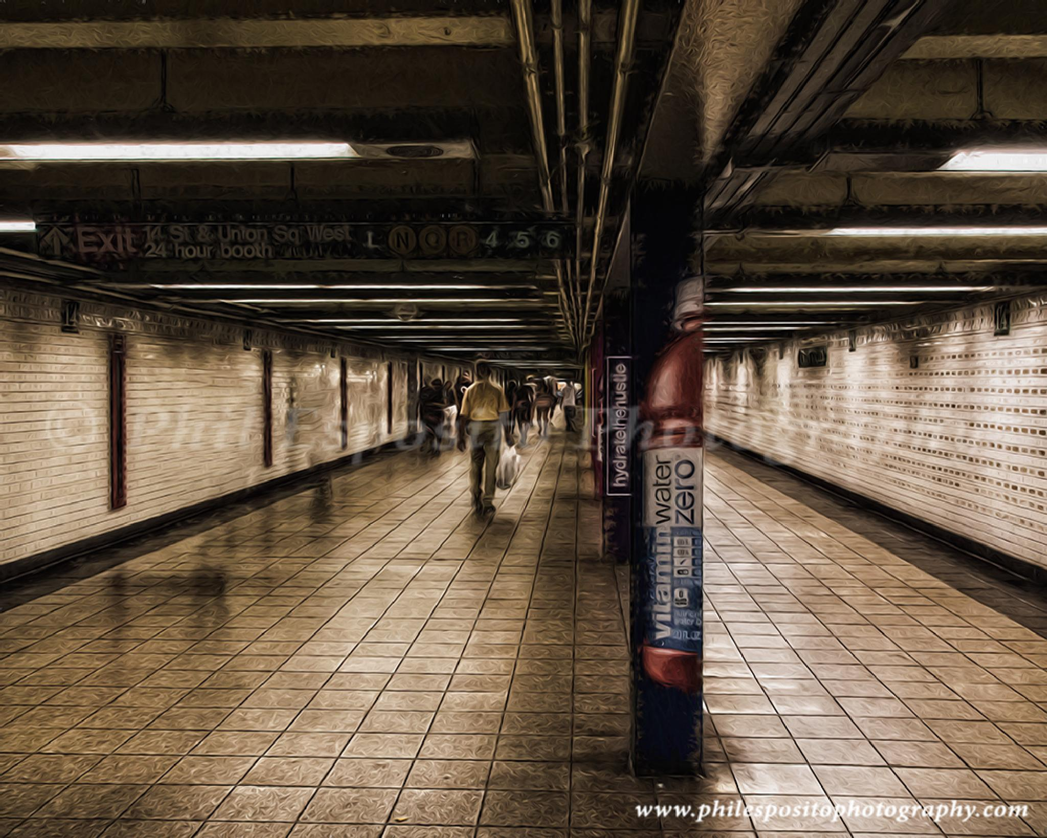 14 st station in color by Phil Esposito