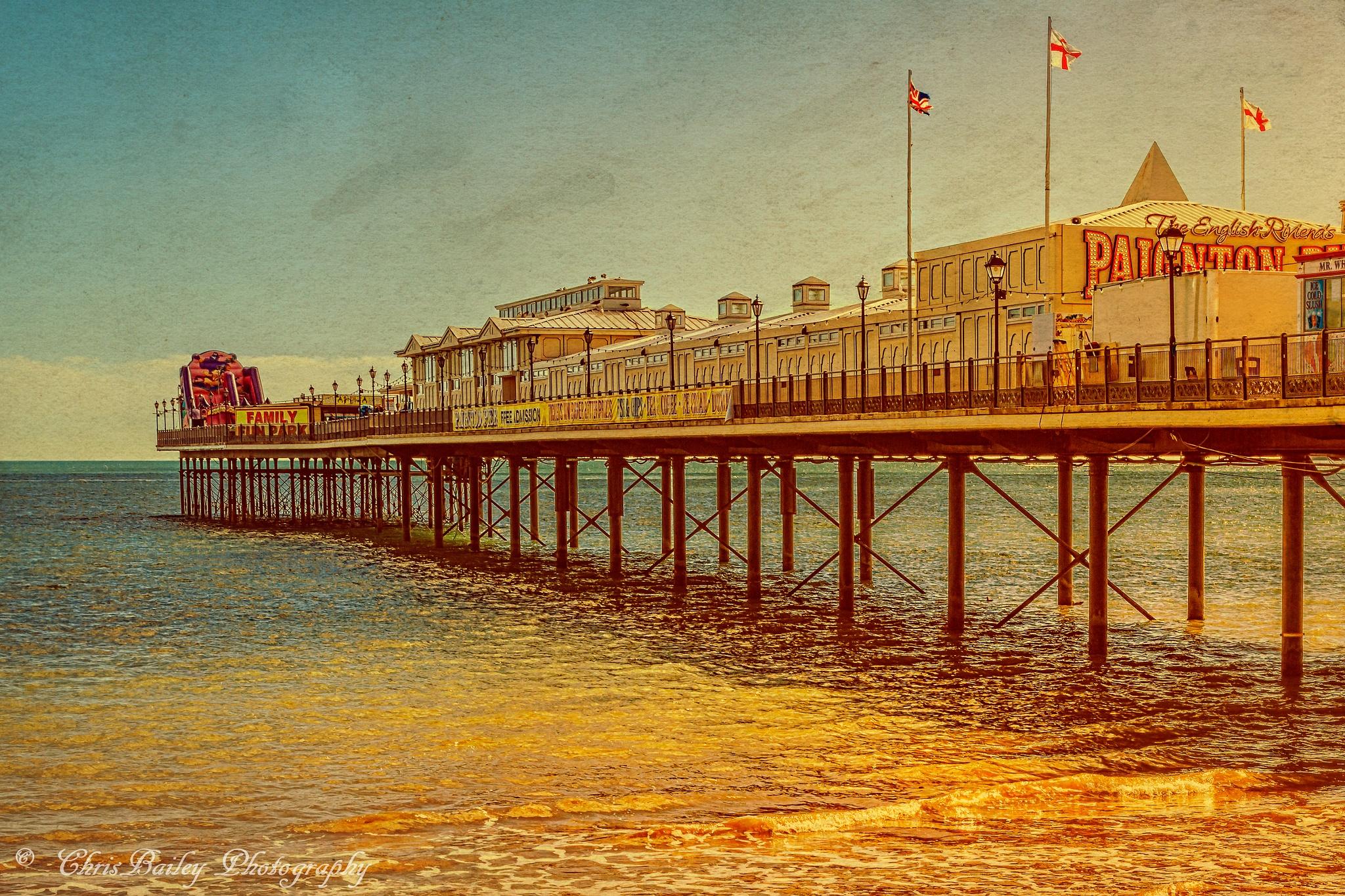 Paignton Pier. 02.6. 20160331 by Chris Bailey