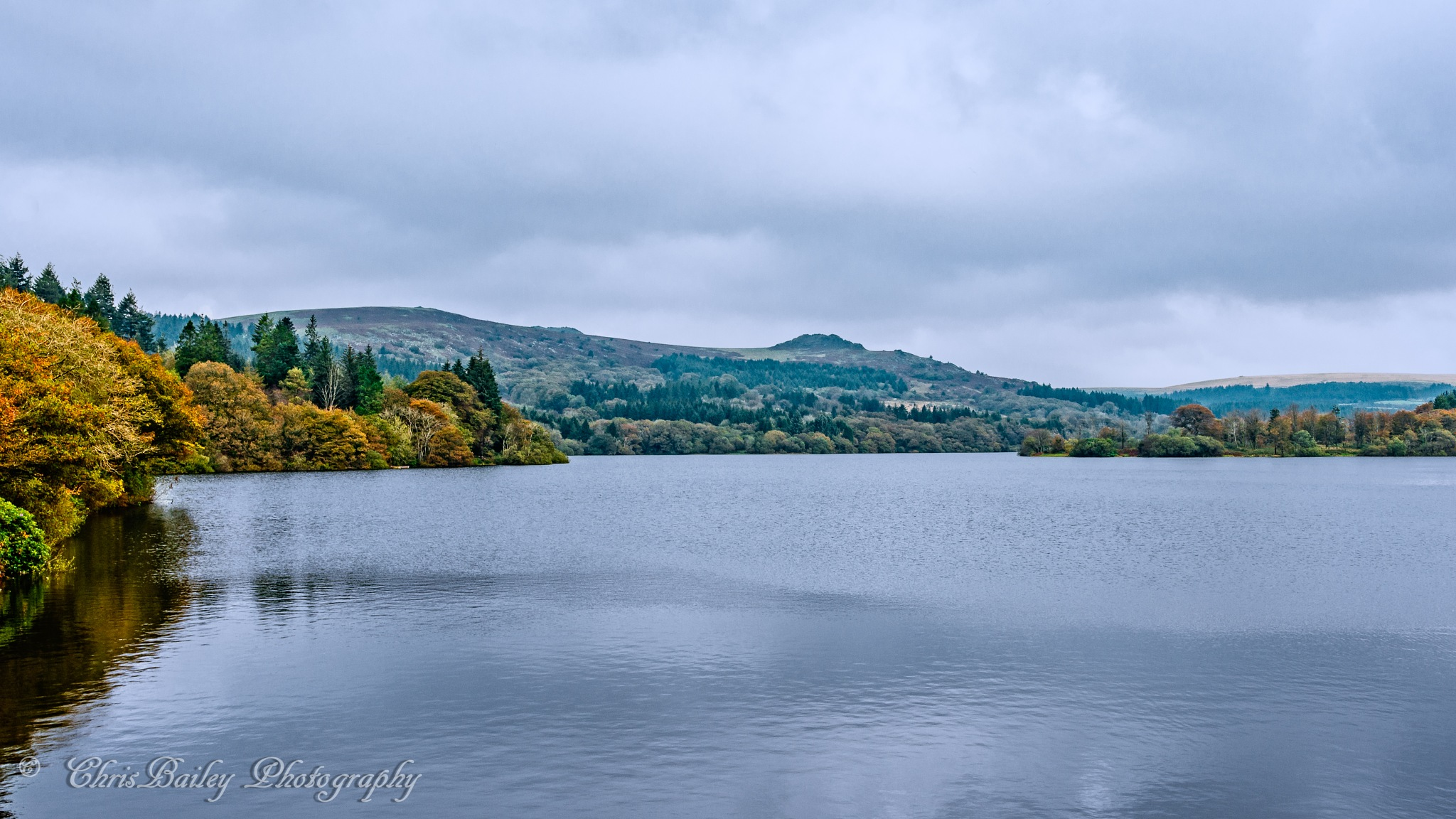 Autumn at Burrator Reservoir. 005.  2017.10.15 by Chris Bailey