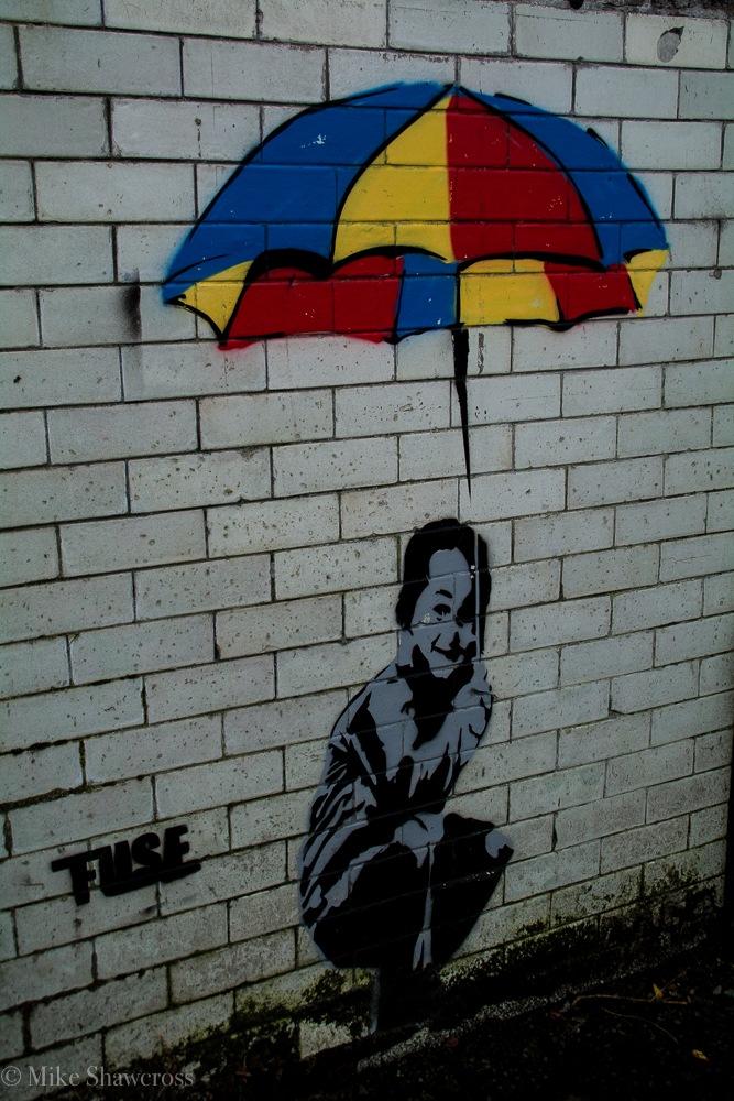 Street Art - Glasgow by Mike Shawcross