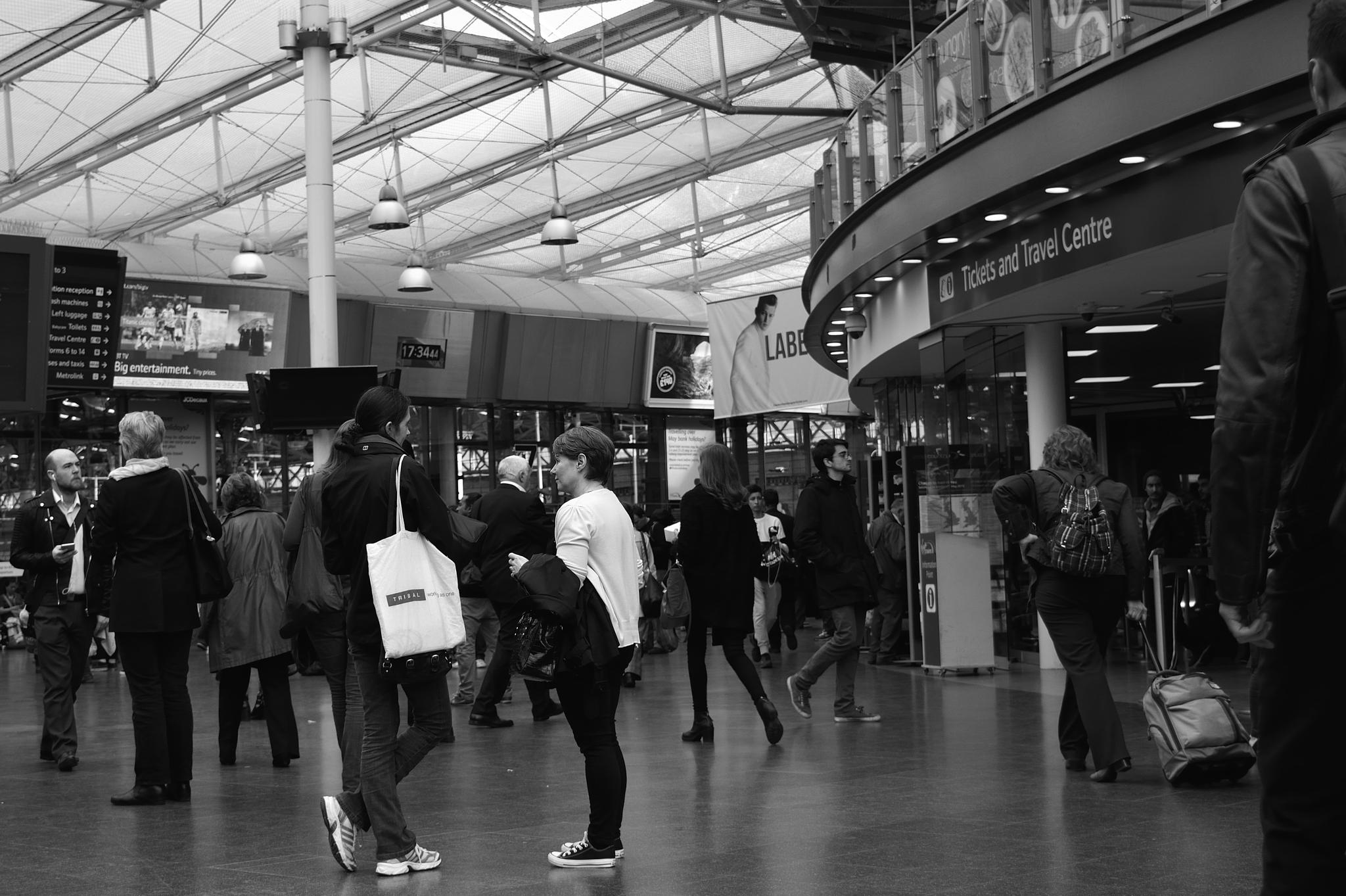 Station Life by Mike Shawcross