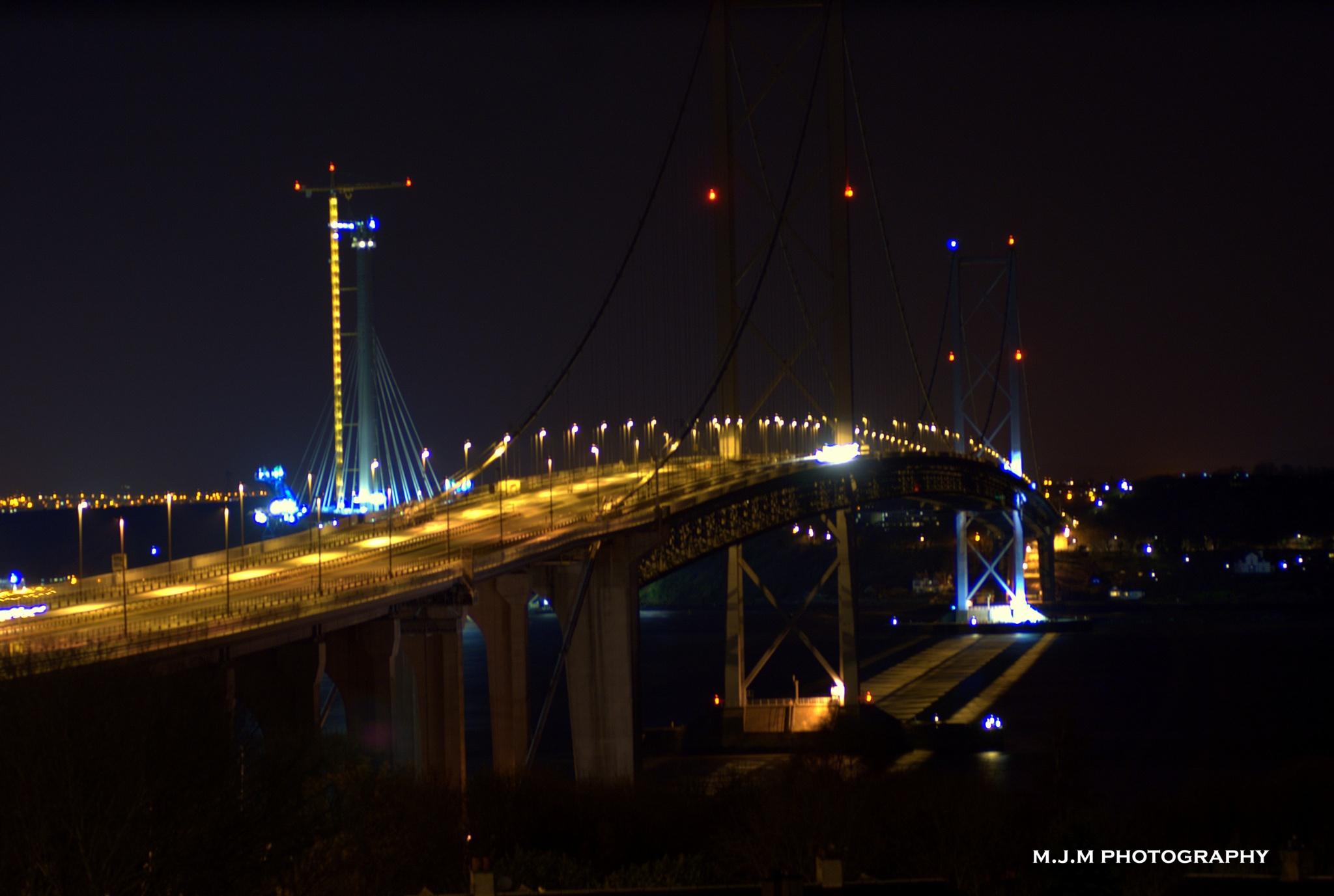 BROKEN FORTH ROAD BRIDGE by Mark McDonald