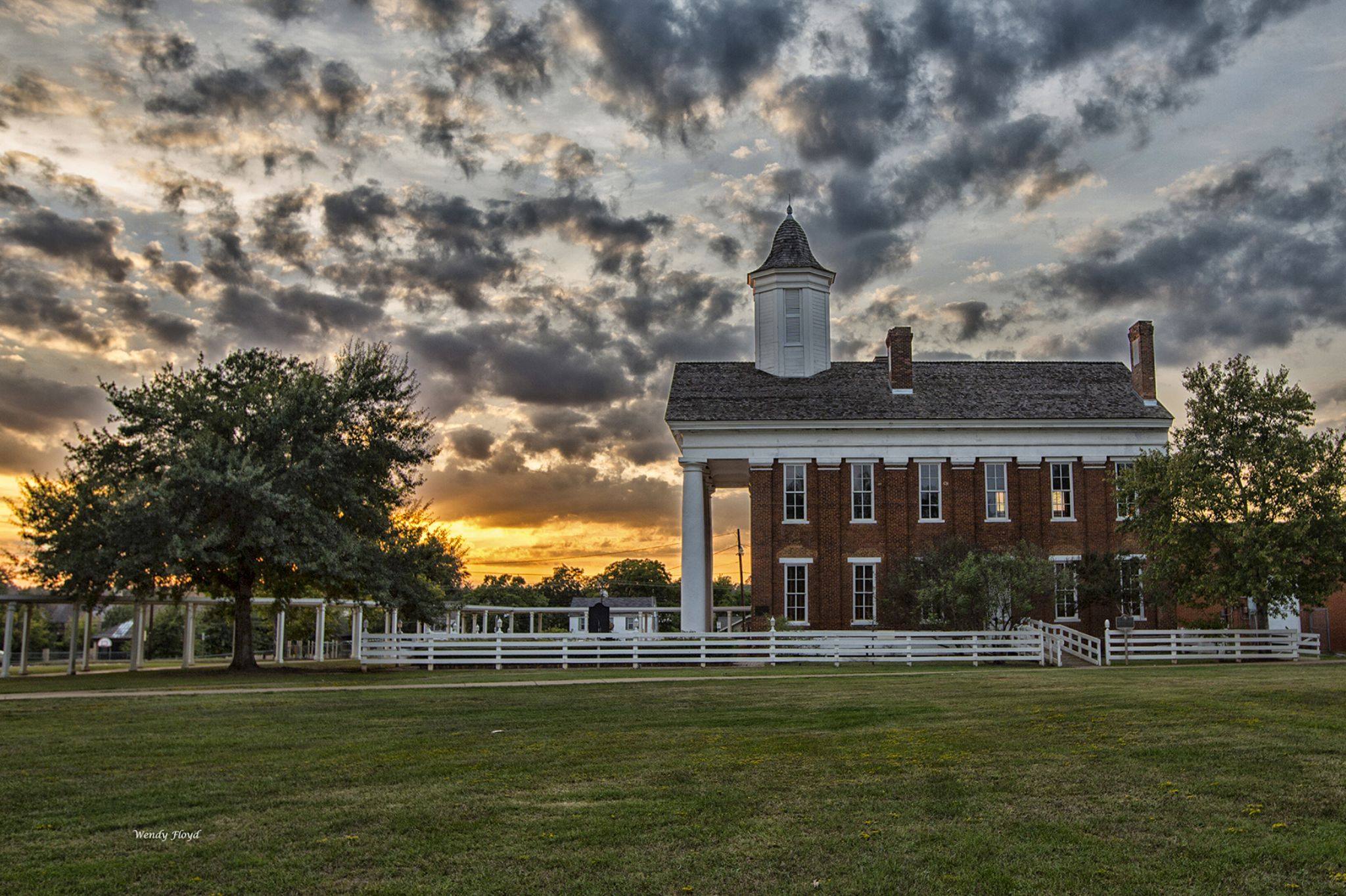 Old University Building at Sunset by WendyFloyd1