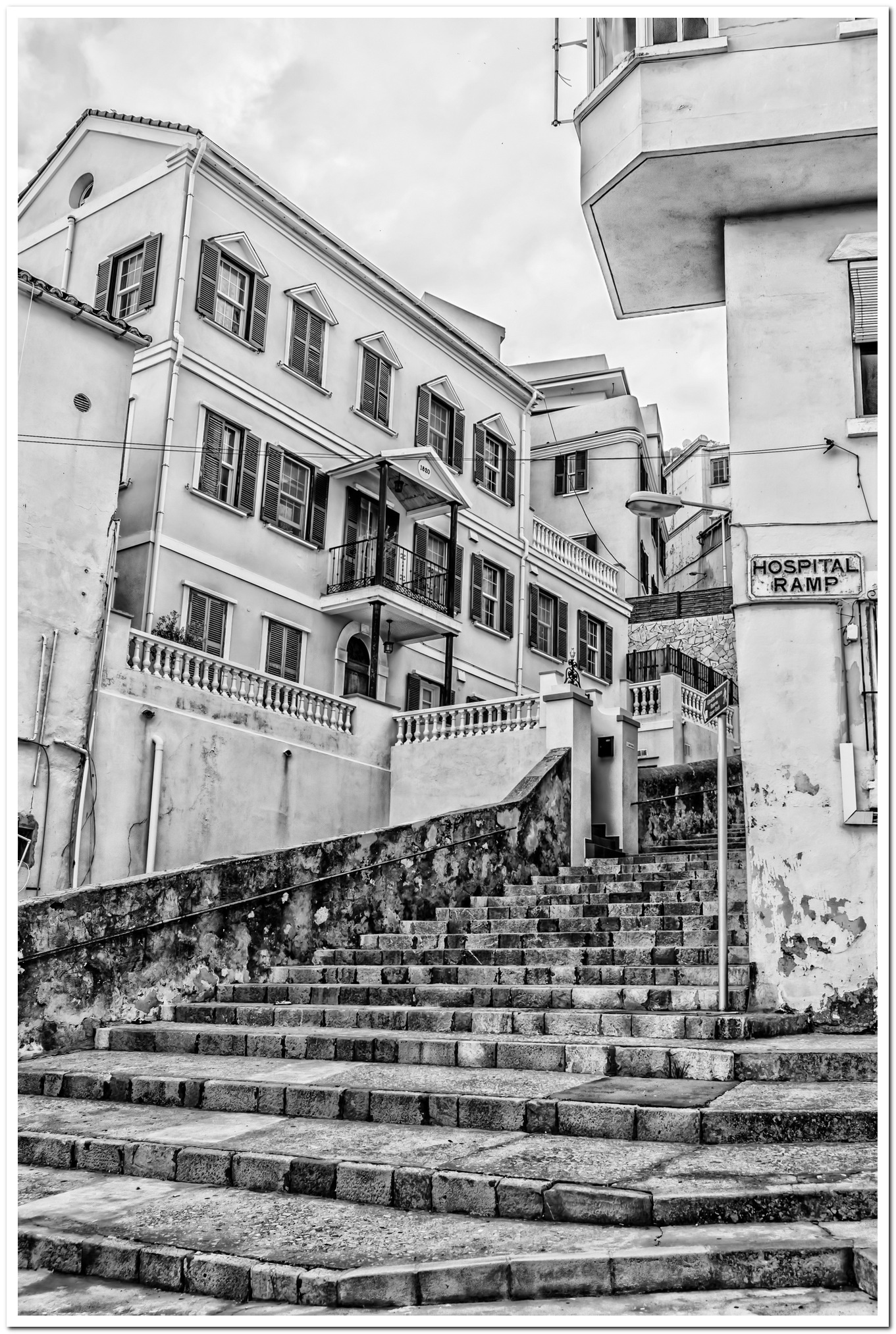 Mansion on Steps by AlanG