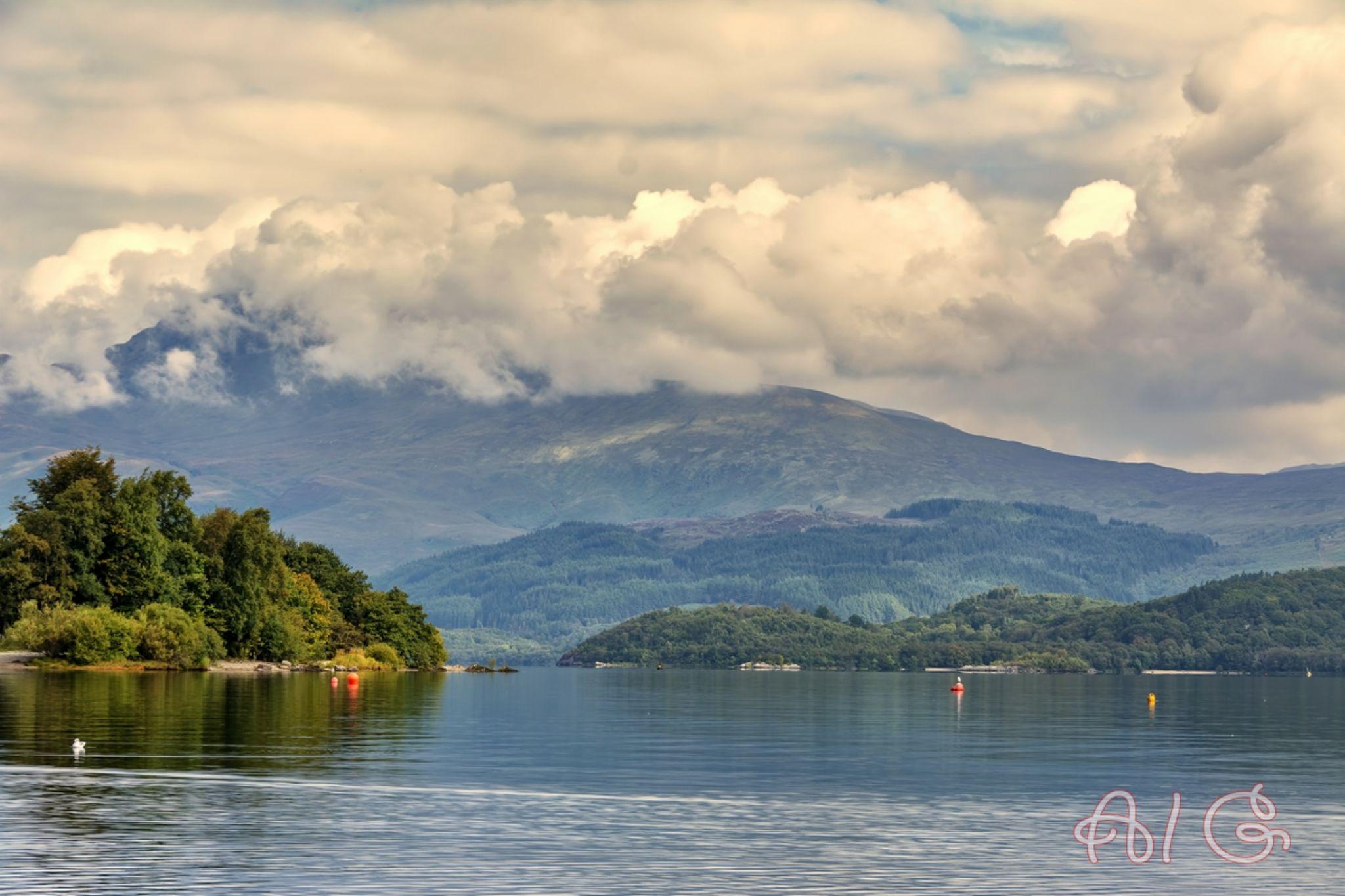 Loch lomond by AlanG