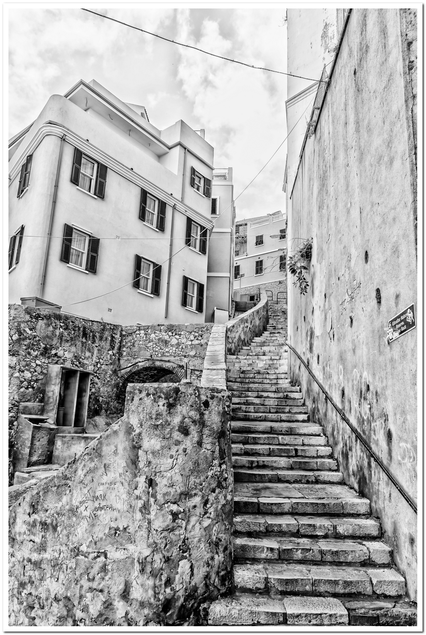 Photo in Random #gibraltar #upper town #old town