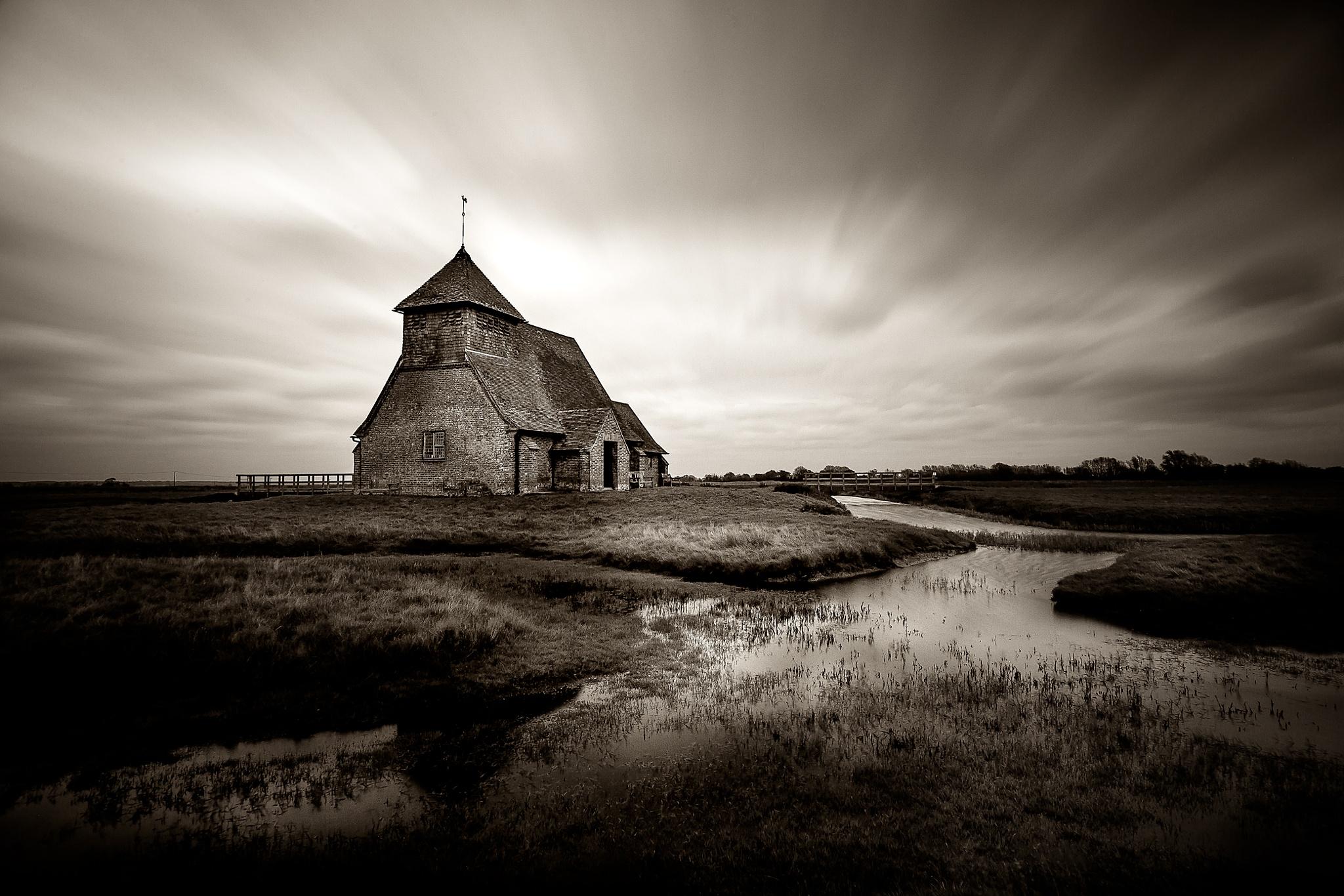 Fairfield Church, Romney Marsh, Kent, UK by john_ly_uk